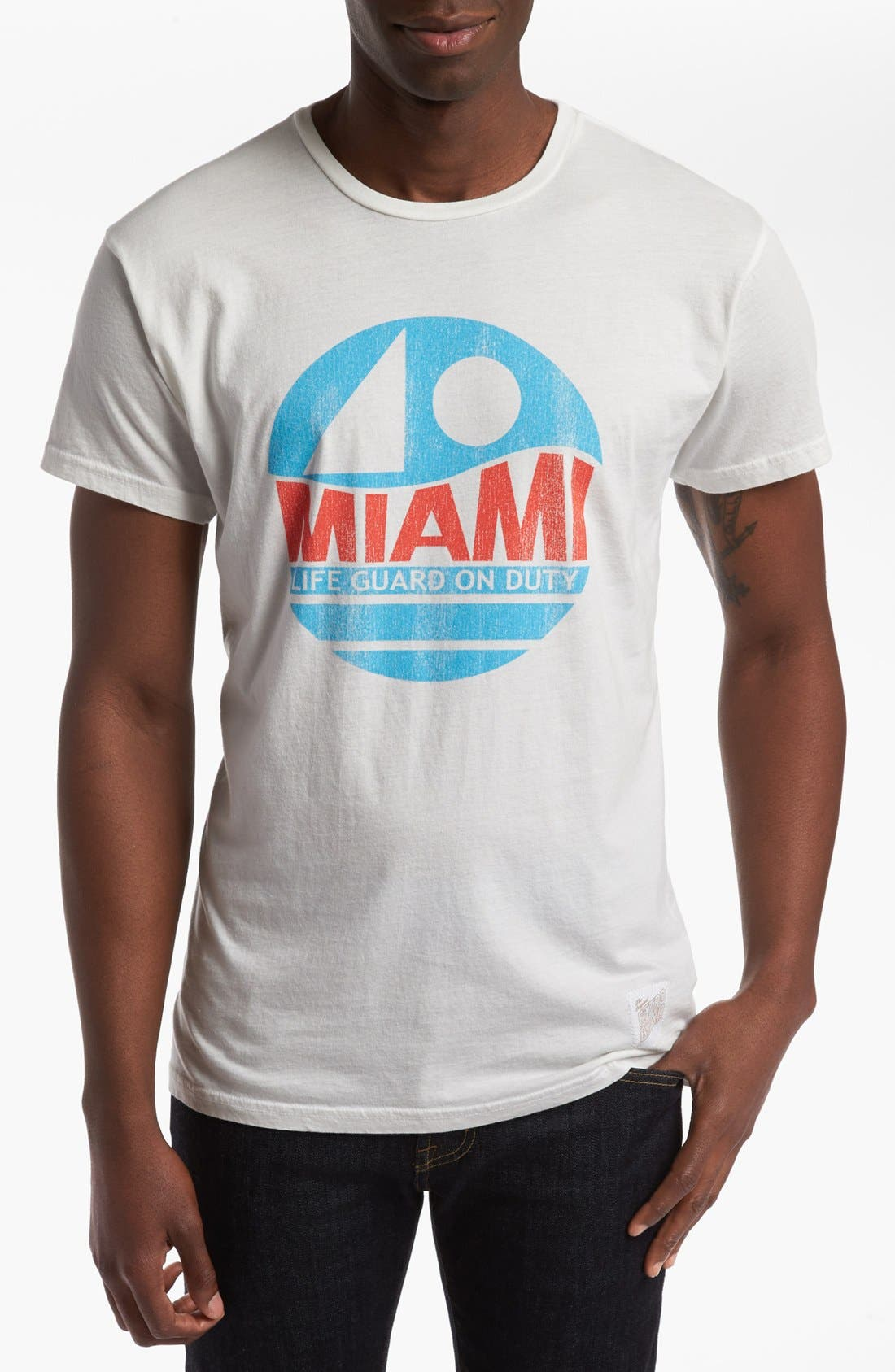Alternate Image 1 Selected - Retro Brand 'Miami' T-Shirt