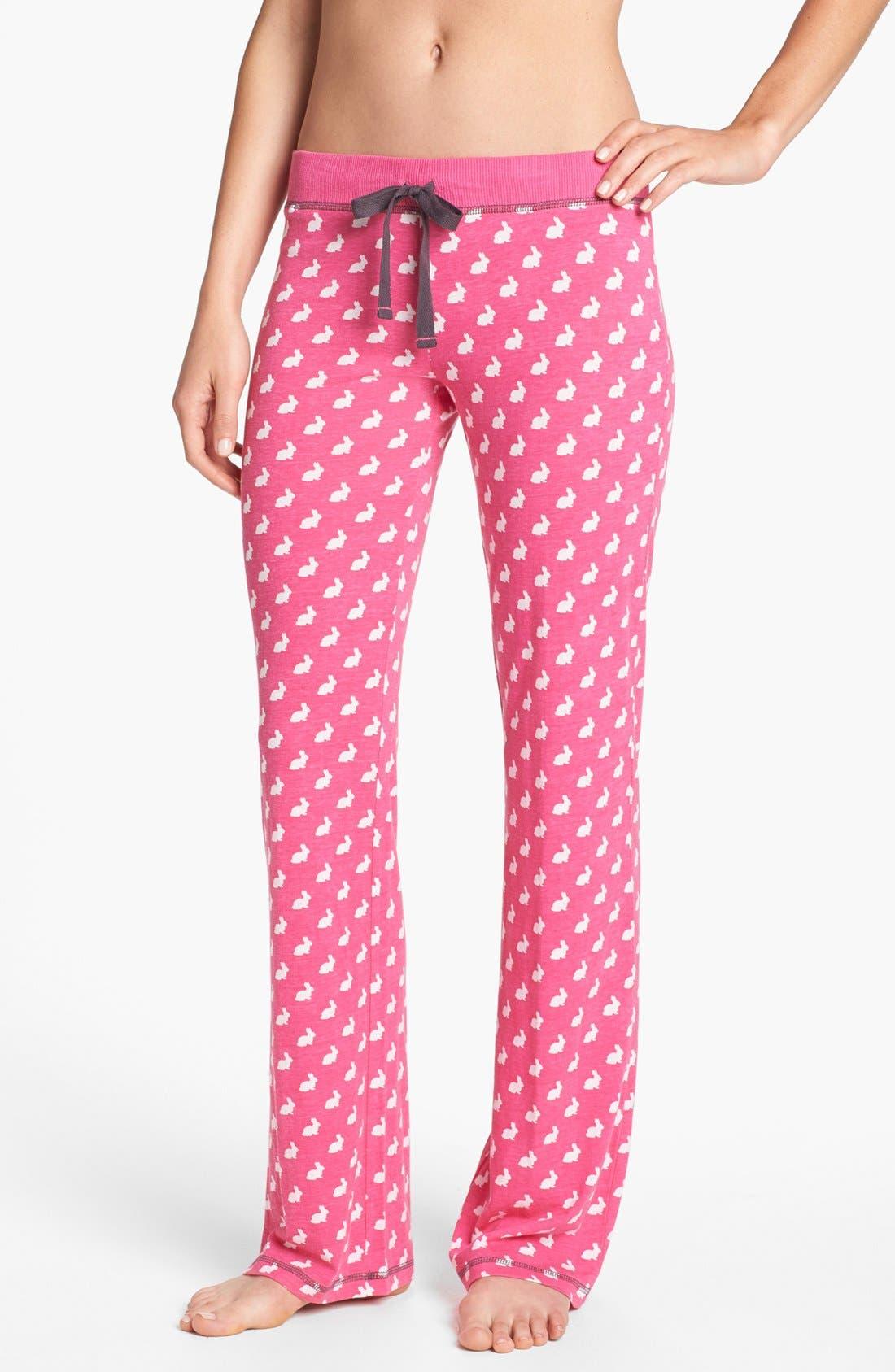 Alternate Image 1 Selected - COZY ZOE Knit Lounge Pants