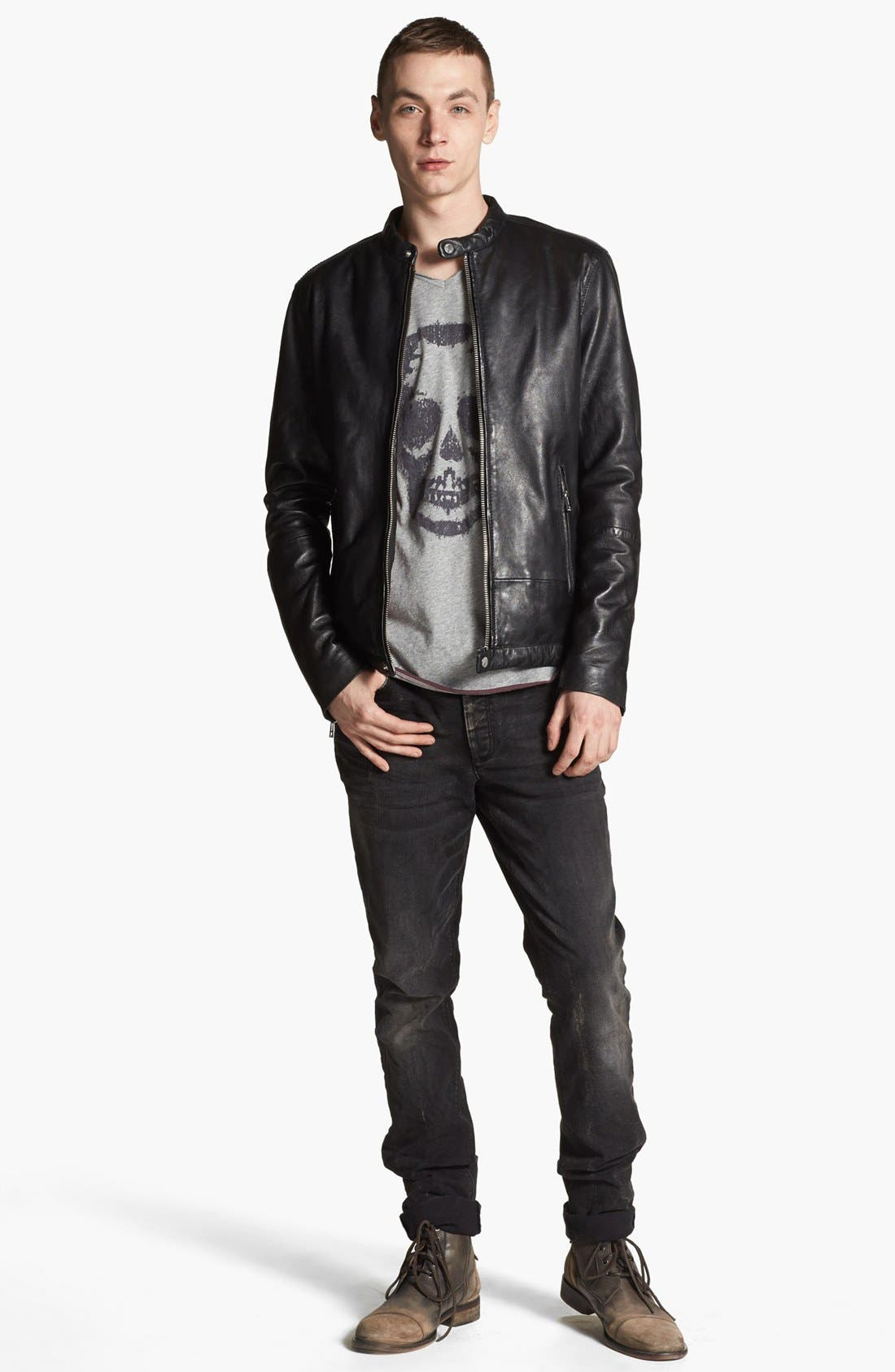 Alternate Image 4  - Zadig & Voltaire Leather Jacket