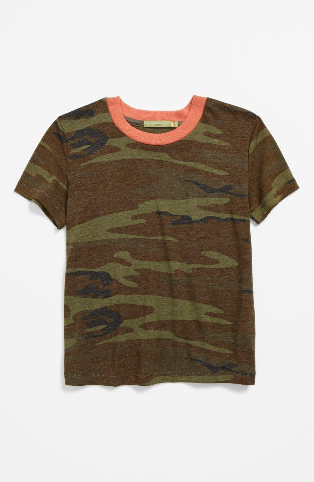 Alternate Image 1 Selected - Alternative Camo T-Shirt (Little Boys & Big Boys)