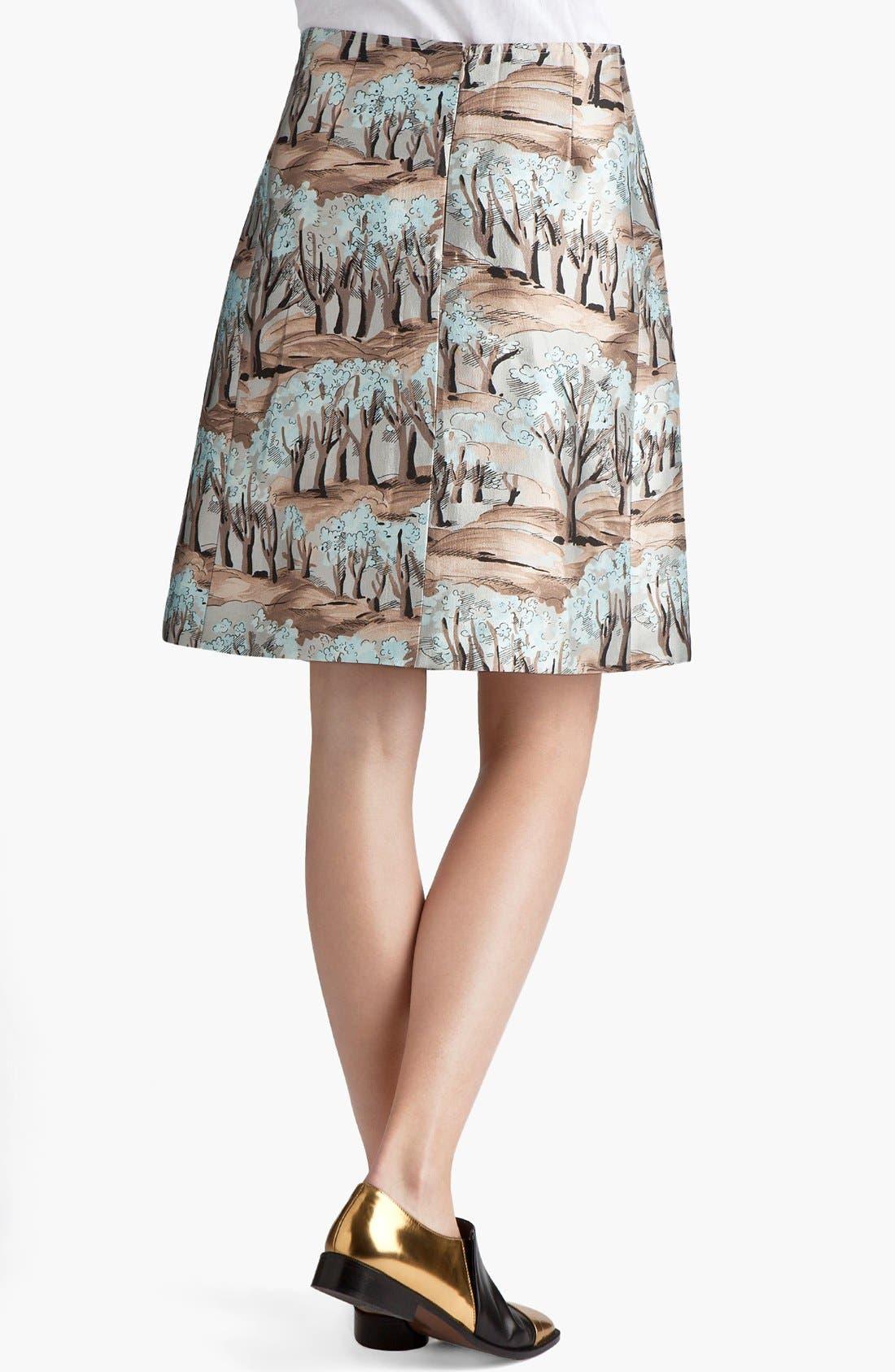 Alternate Image 3  - Marni Forest Print Front Pleat Radzimir Skirt