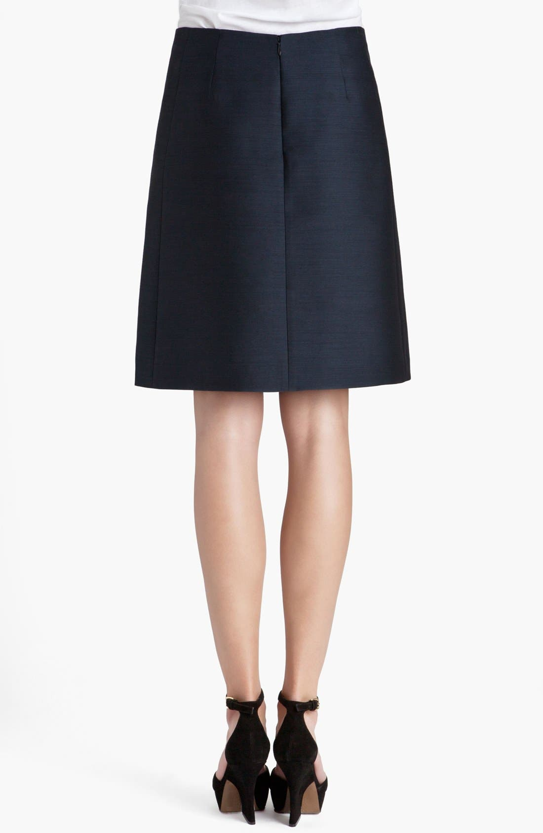 Alternate Image 2  - Marni Front Pleat Organza Skirt