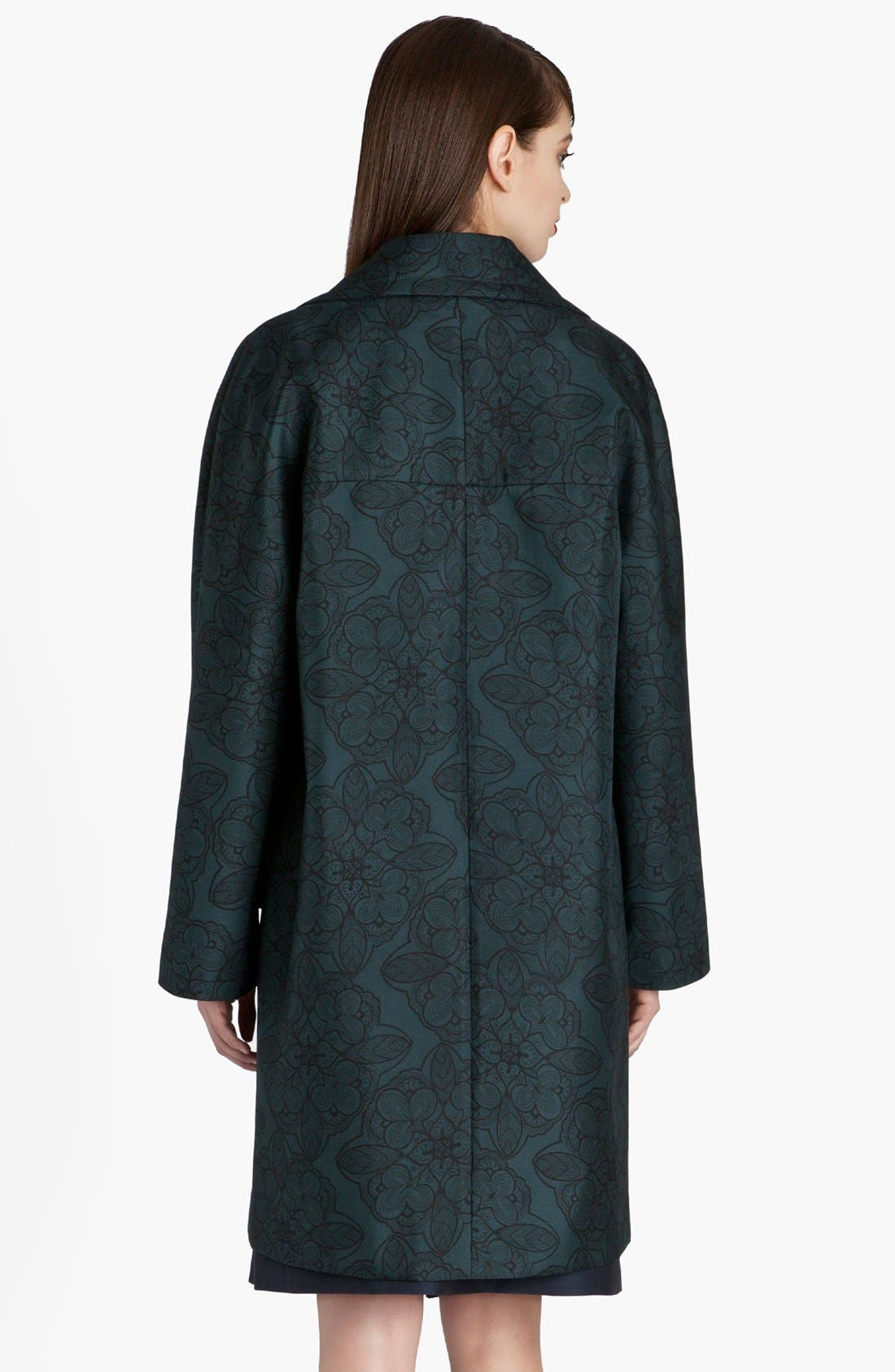 Alternate Image 3  - Marni Snowflower Print Bonded Coat