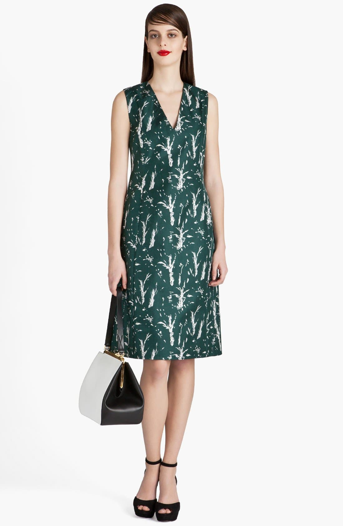Alternate Image 3  - Marni Forest Print A-Line Dress