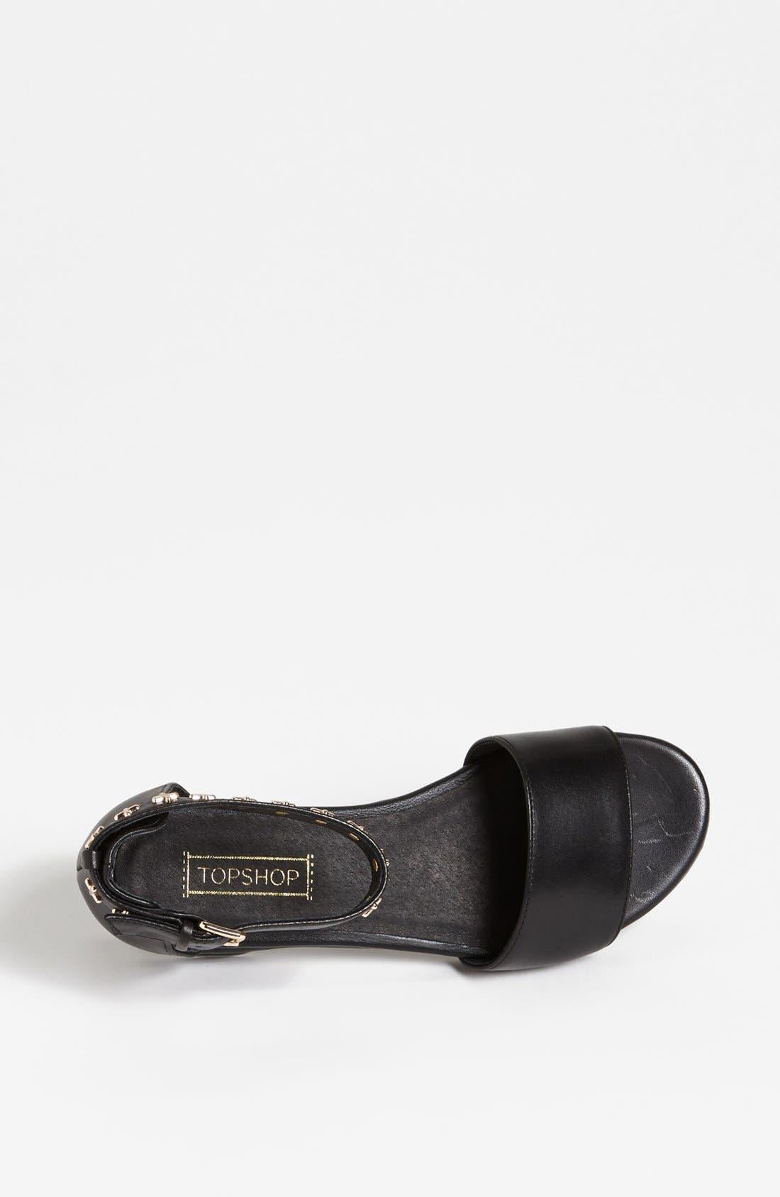 Alternate Image 3  - Topshop 'Fend' Sandal