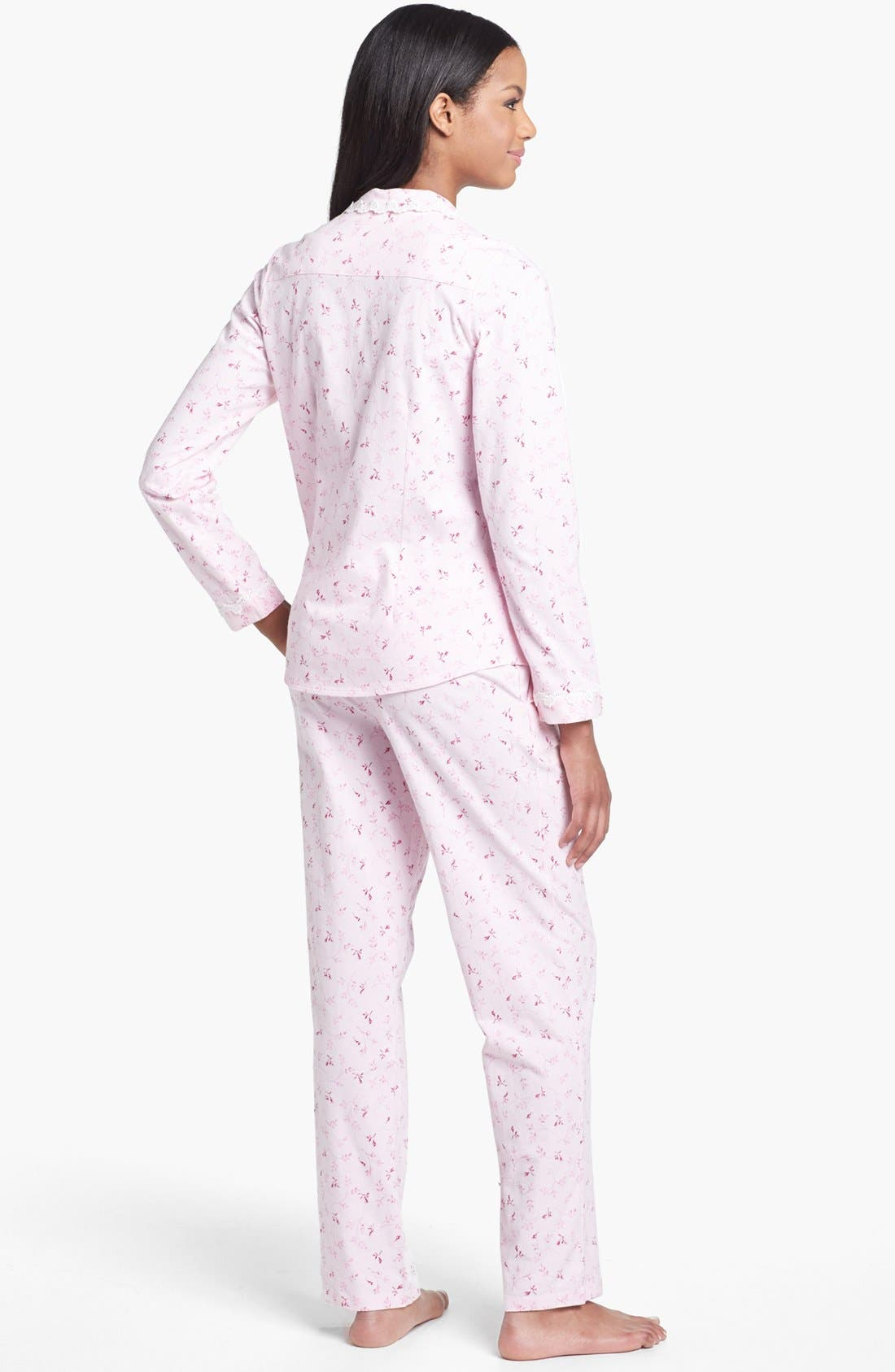 Alternate Image 2  - Eileen West 'Rose Whisper' Pajamas