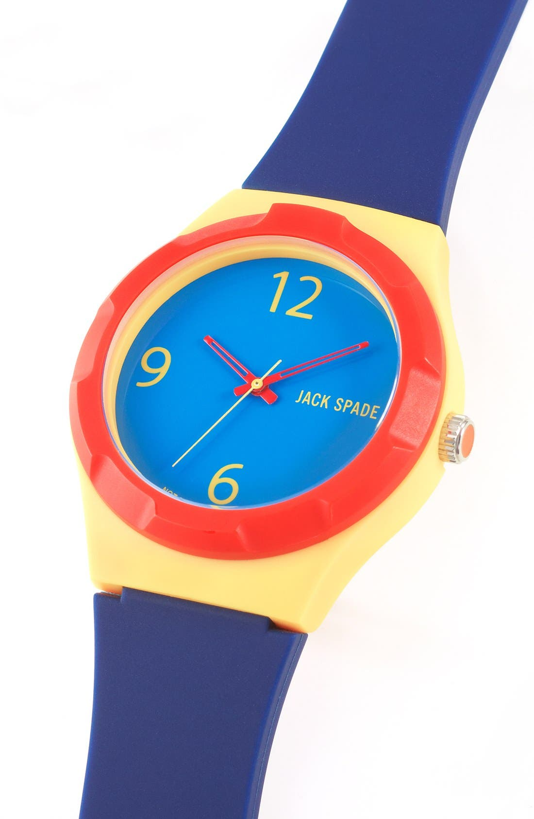 Alternate Image 4  - Jack Spade 'Graphic' Colorblock Watch, 38mm