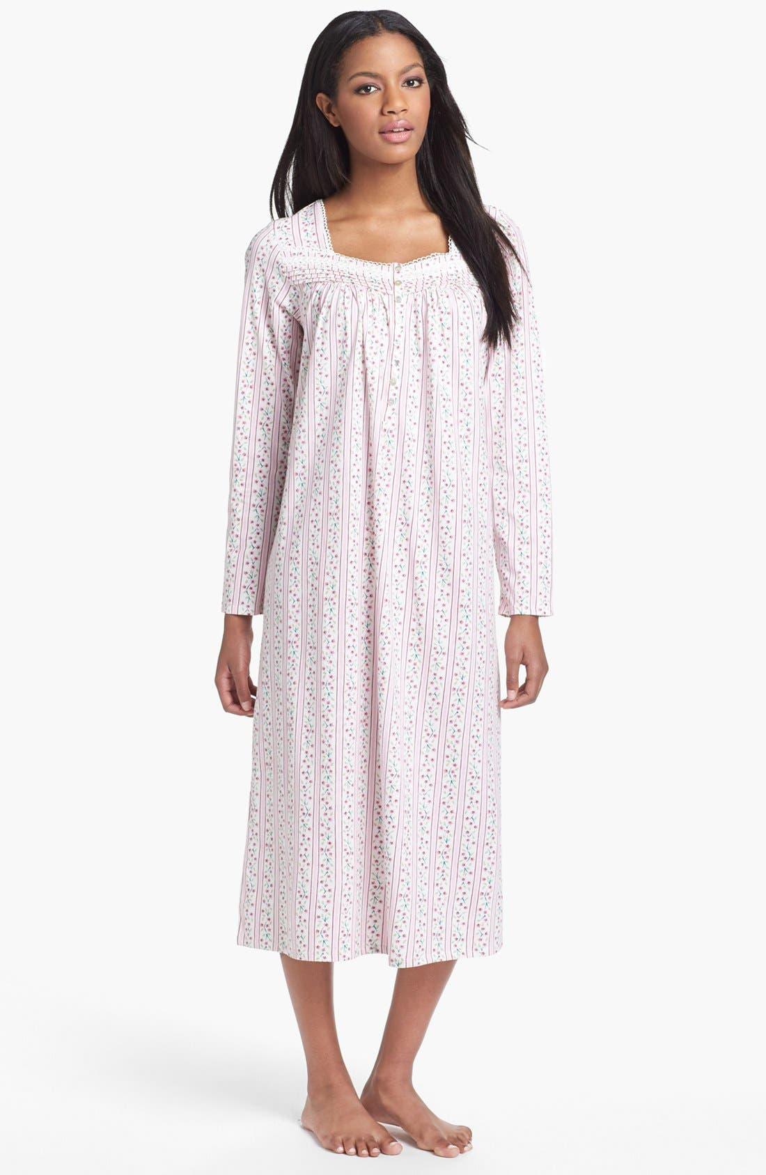 Alternate Image 1 Selected - Eileen West 'Vintage Bloom' Nightgown