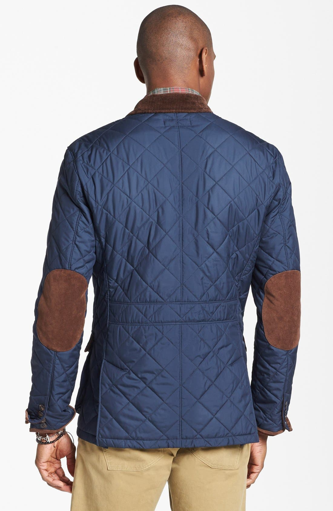 Alternate Image 2  - Polo Ralph Lauren Quilted Sportcoat
