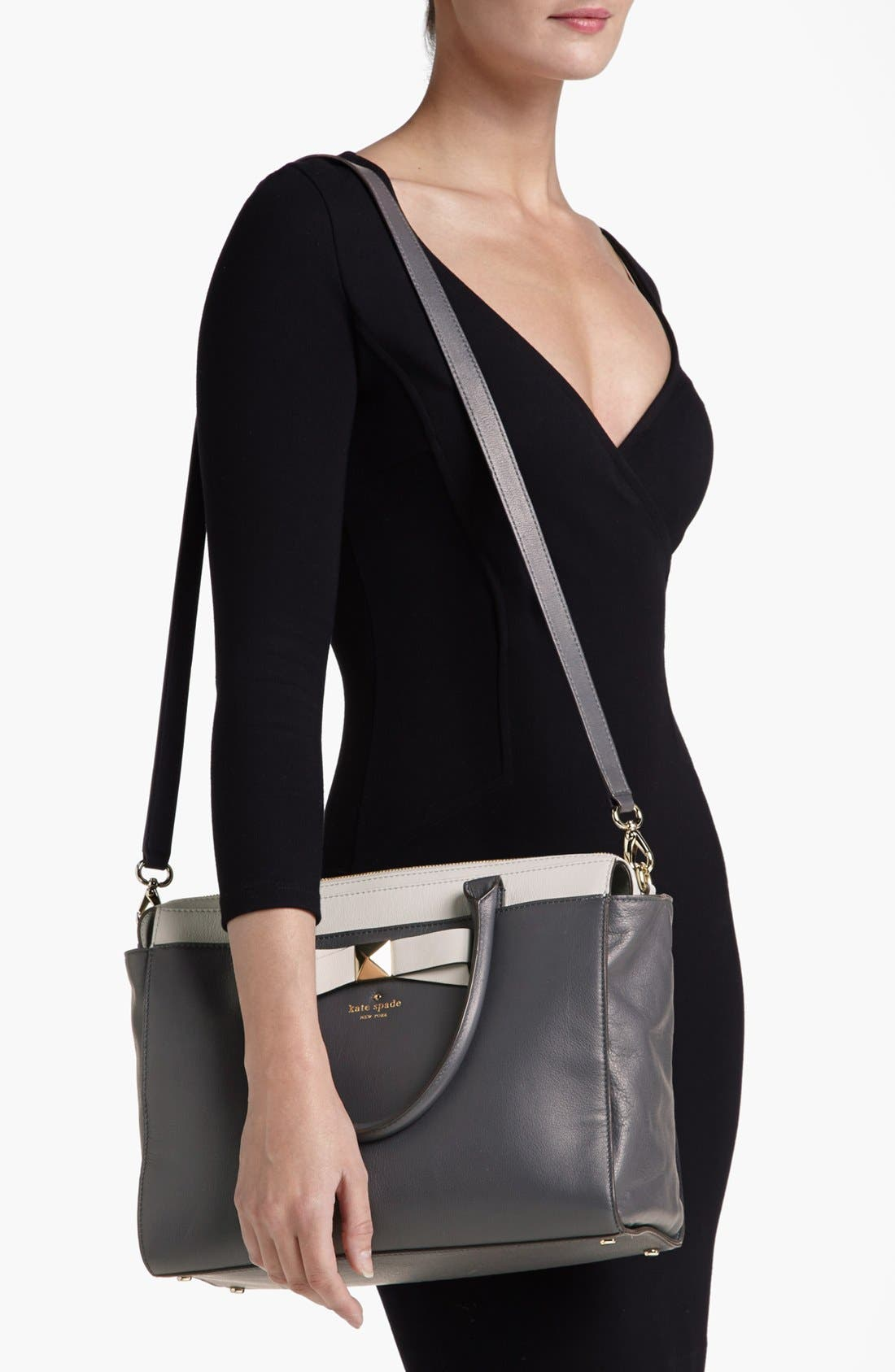Alternate Image 2  - kate spade new york 'hancock park - jeanne' leather satchel, medium