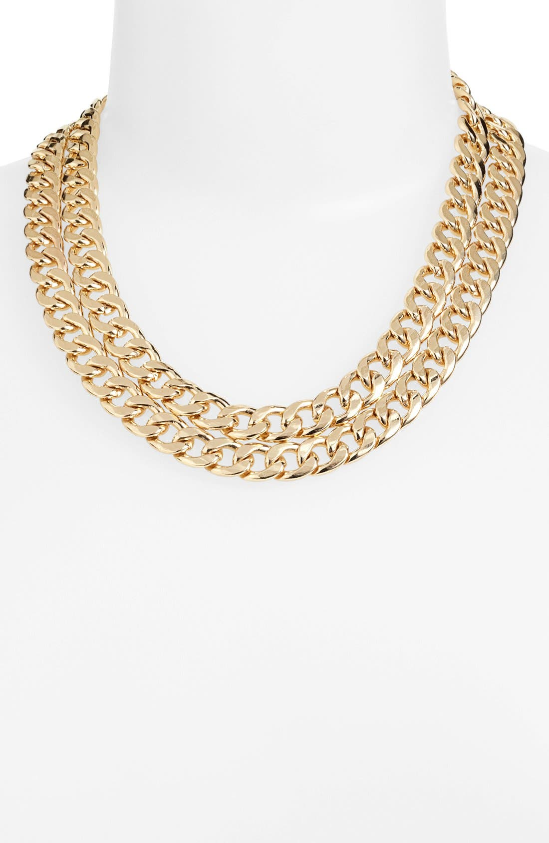 Alternate Image 1 Selected - BP. Double Chain Necklace