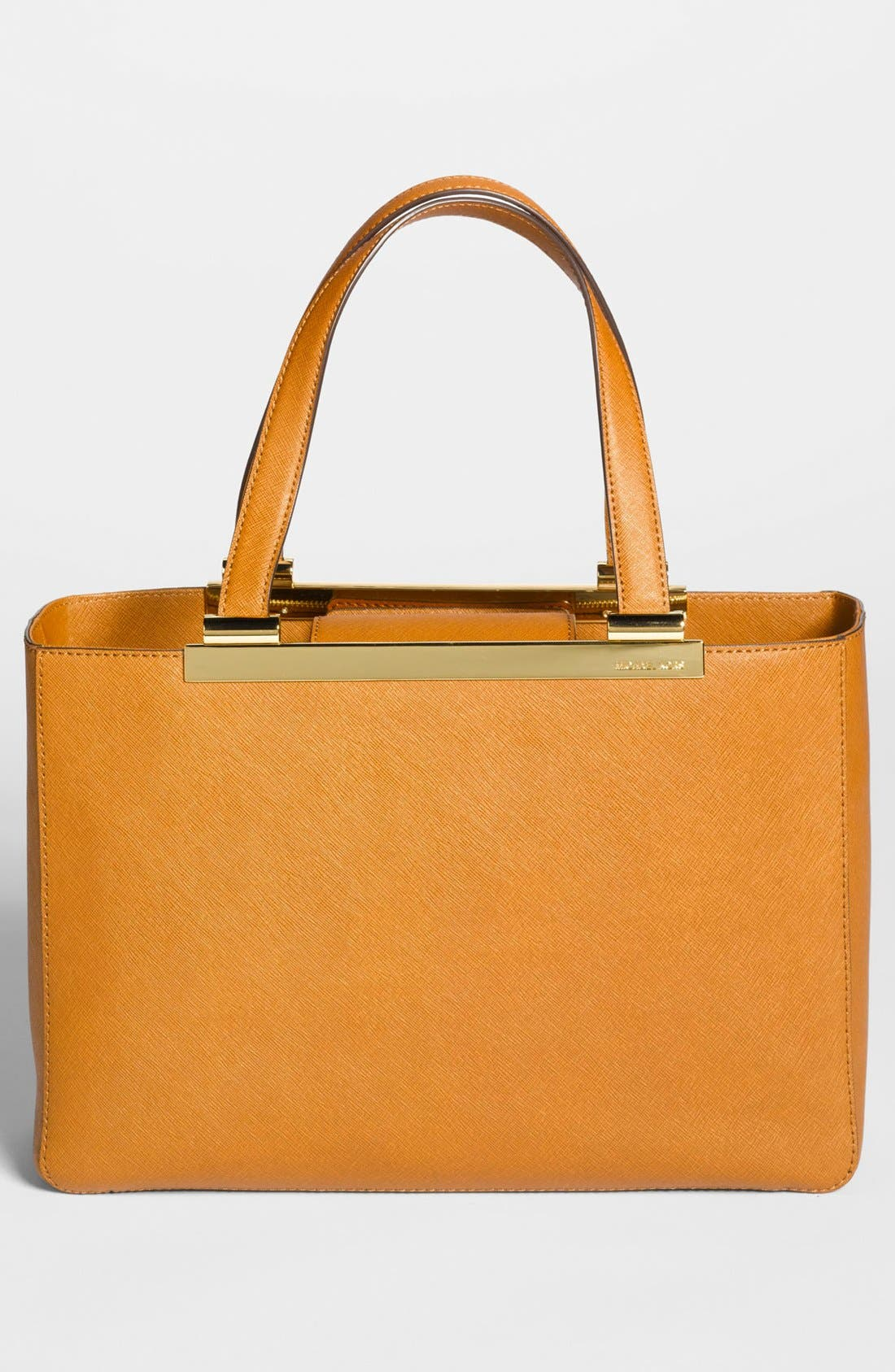 Alternate Image 4  - MICHAEL Michael Kors 'Tilda - Large' Saffiano Leather Tote (Online Only)