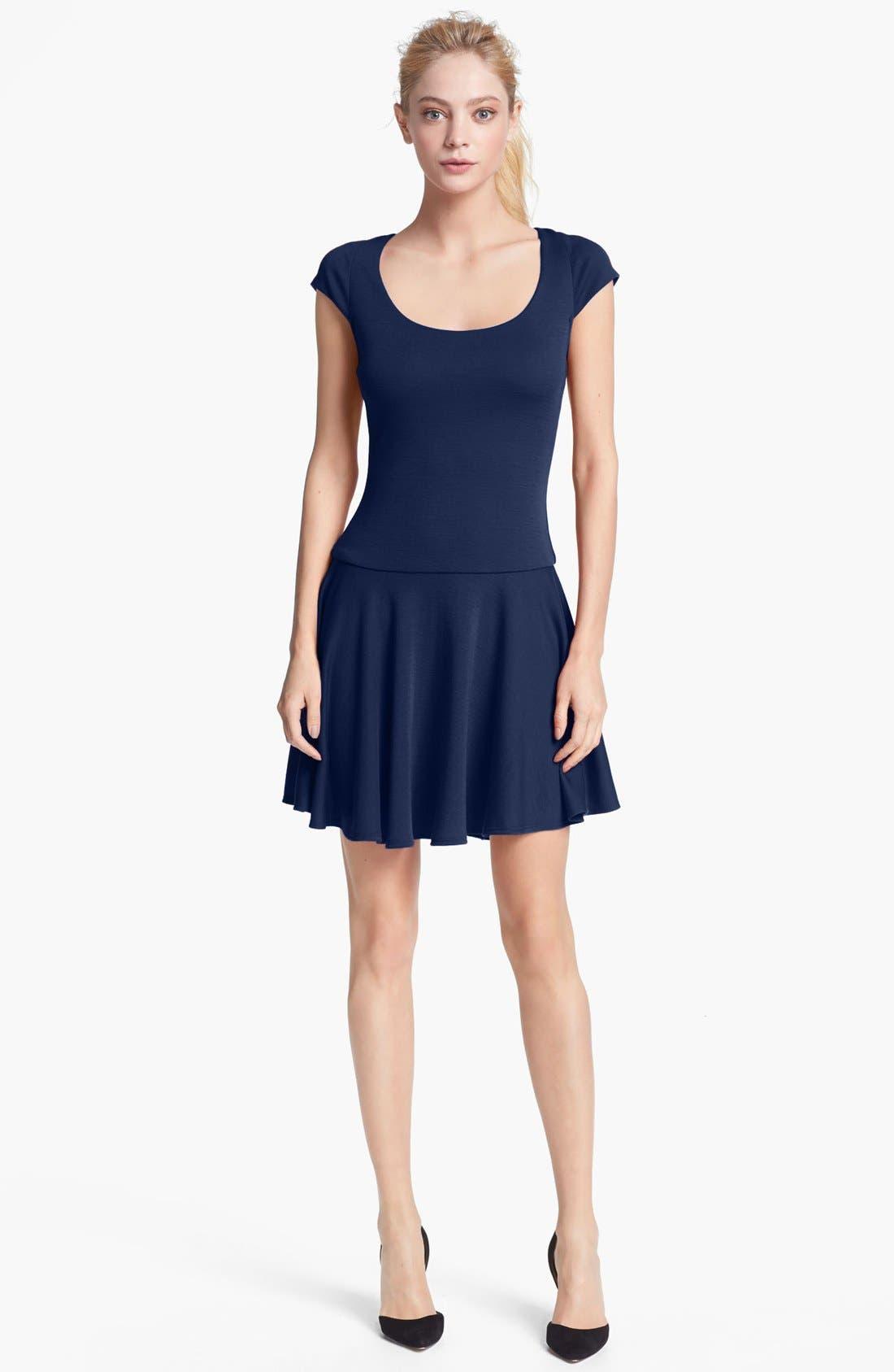 Alternate Image 1 Selected - Alice + Olivia 'Rylie' Fit & Flare Dress