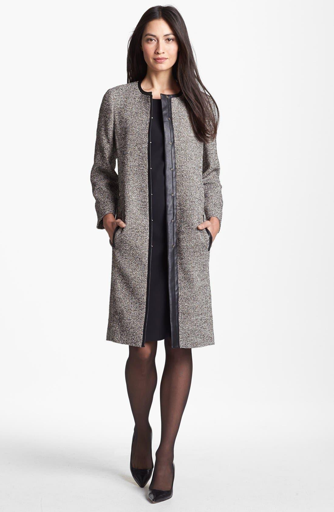 Alternate Image 4  - BOSS HUGO BOSS Sleeveless Sheath Dress