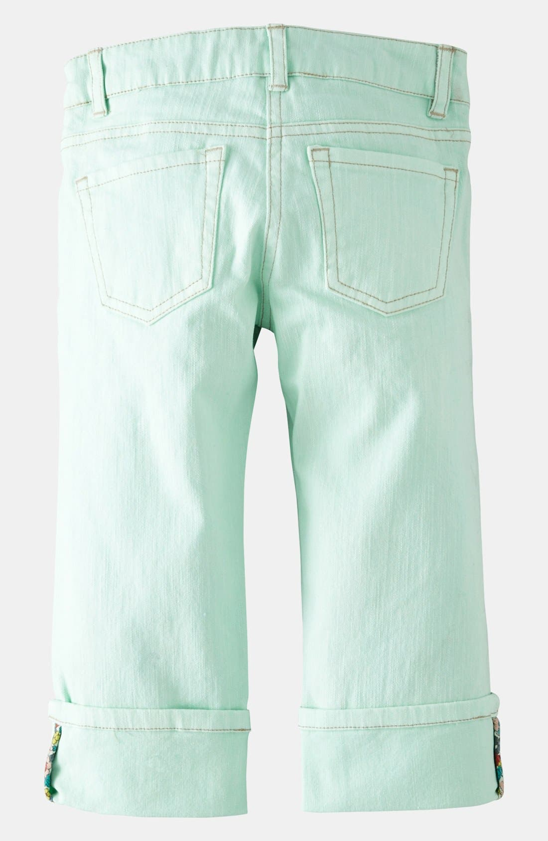 Alternate Image 2  - Mini Boden Crop Jeans (Toddler, Little Girls & Big Girls)