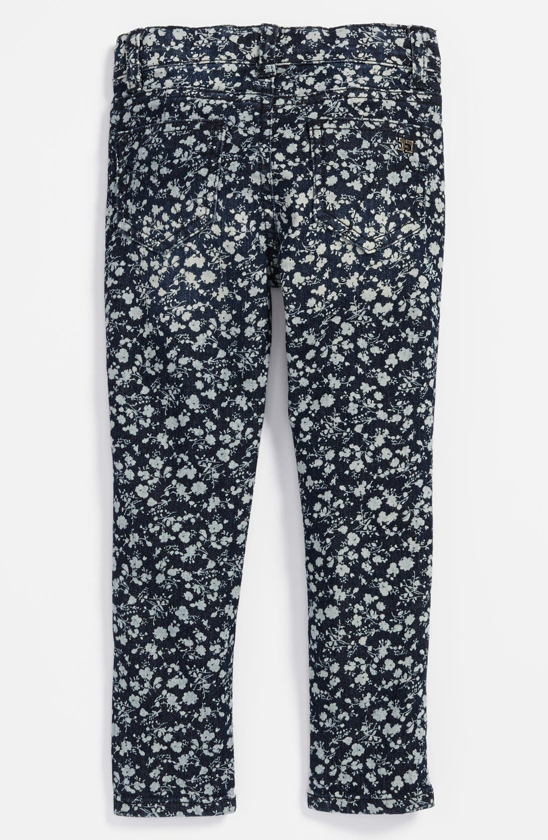 Alternate Image 1 Selected - Joe's 'Mini' Ditsy Floral Jeggings (Baby Girls)