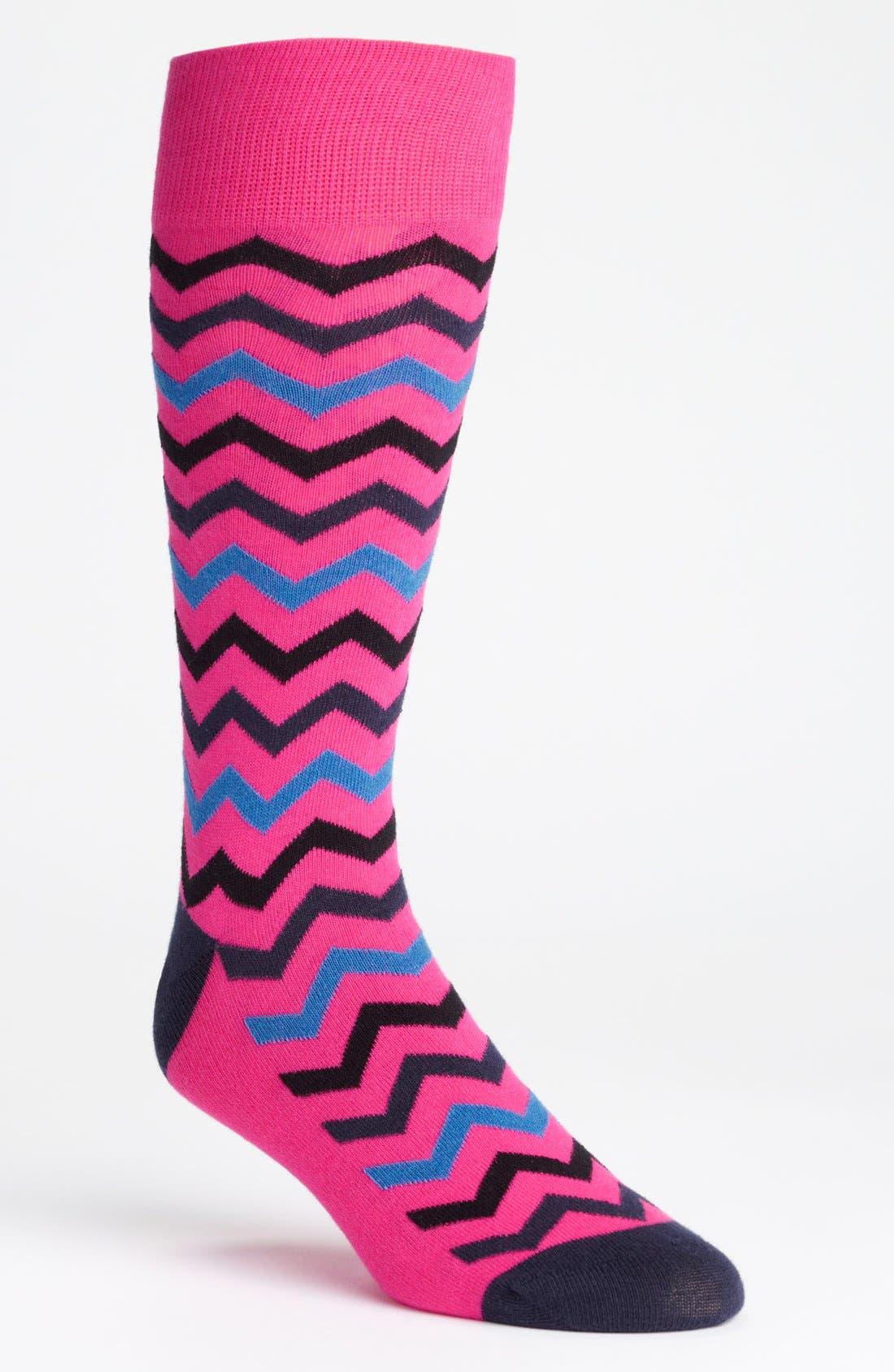 Alternate Image 1 Selected - Calibrate Zigzag Socks
