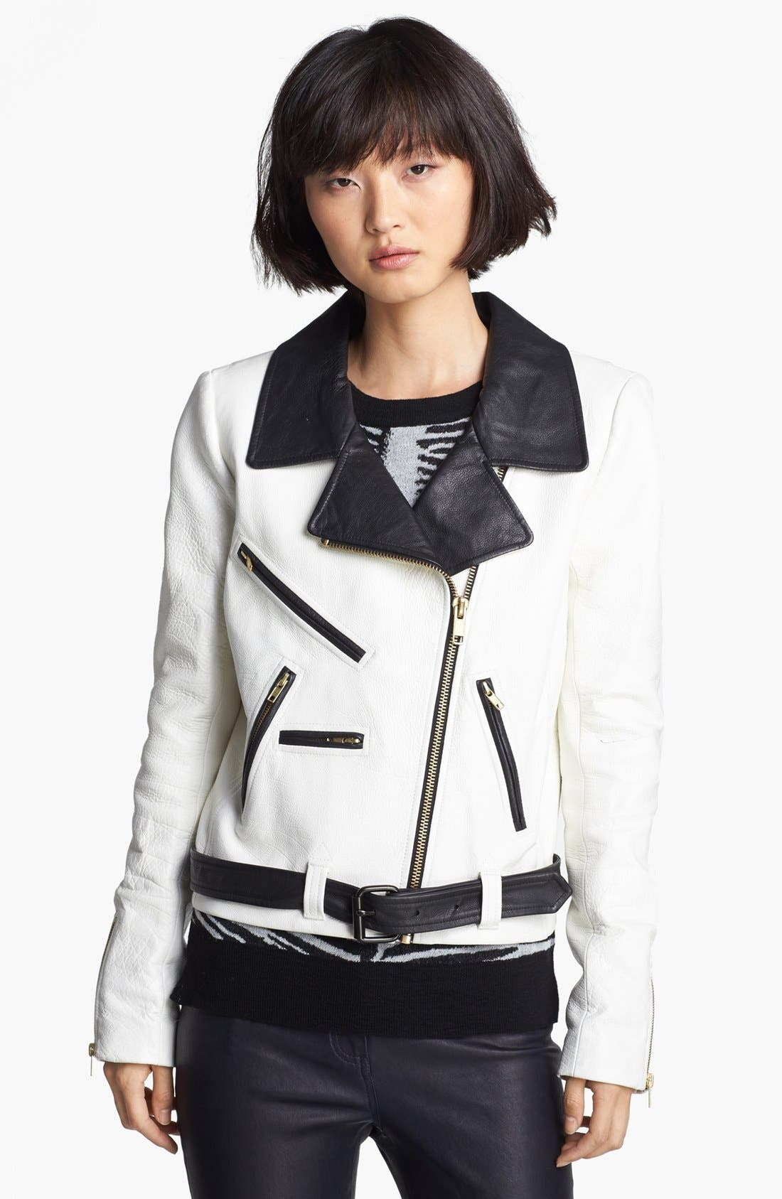 Alternate Image 4  - A.L.C. 'Theo' Leather Jacket