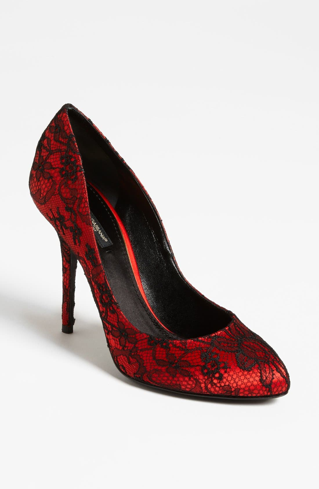 Alternate Image 1 Selected - Dolce&Gabbana Lace Pump