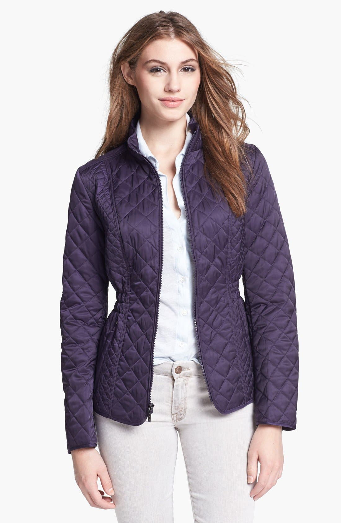 Main Image - Laundry by Shelli Segal Quilted Jacket (Nordstrom Exclusive)