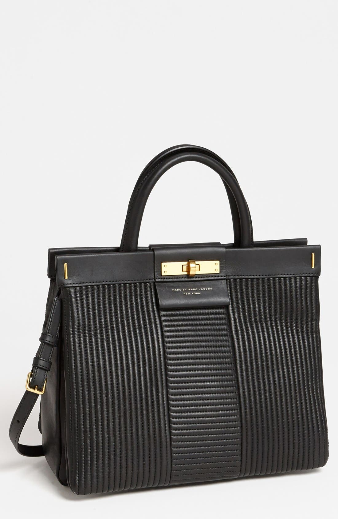 Alternate Image 1 Selected - MARC BY MARC JACOBS 'East End - Madame Hilli' Quilted Satchel