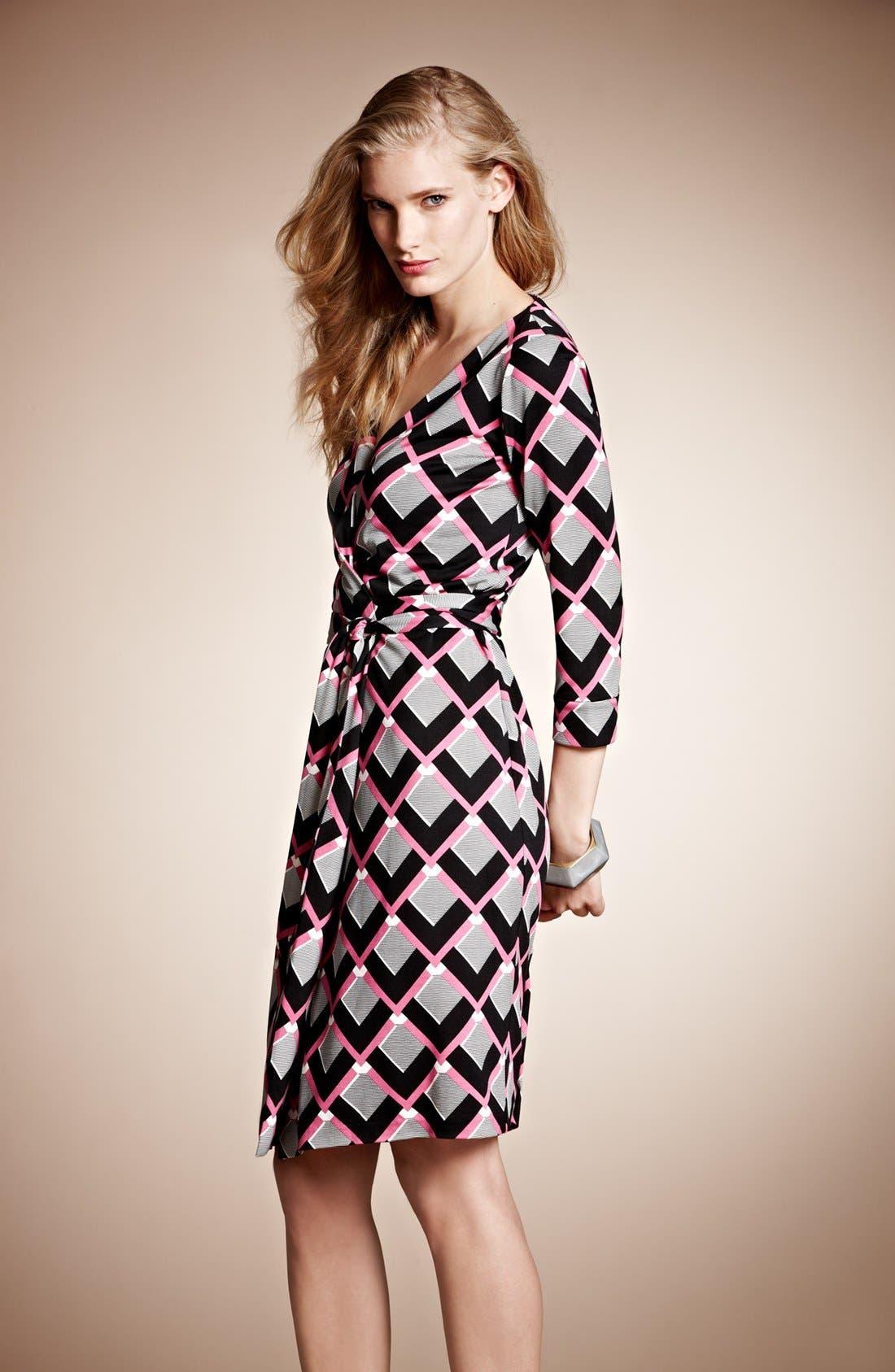 Alternate Image 5  - Diane von Furstenberg 'New Julian 2' Silk Wrap Dress