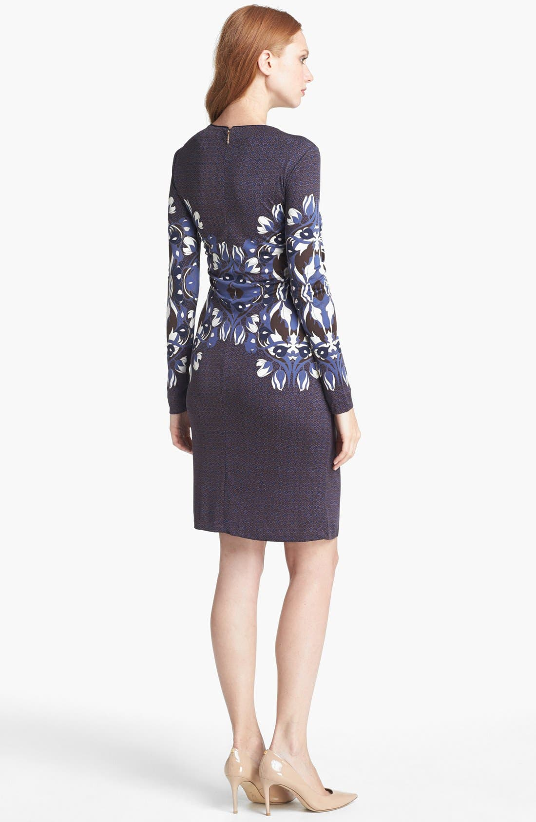 Alternate Image 2  - Tory Burch 'Flavia' Knit Silk Dress