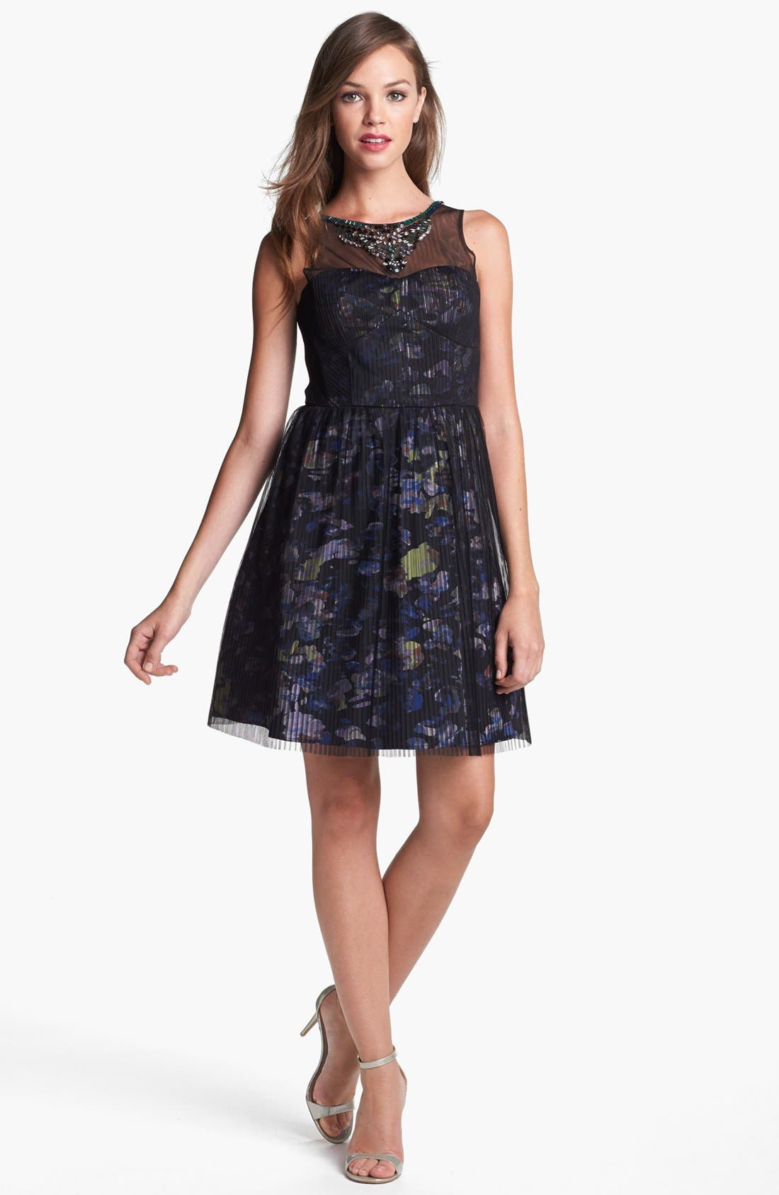 Alternate Image 1 Selected - BCBGMAXAZRIA 'Illusion' Dress