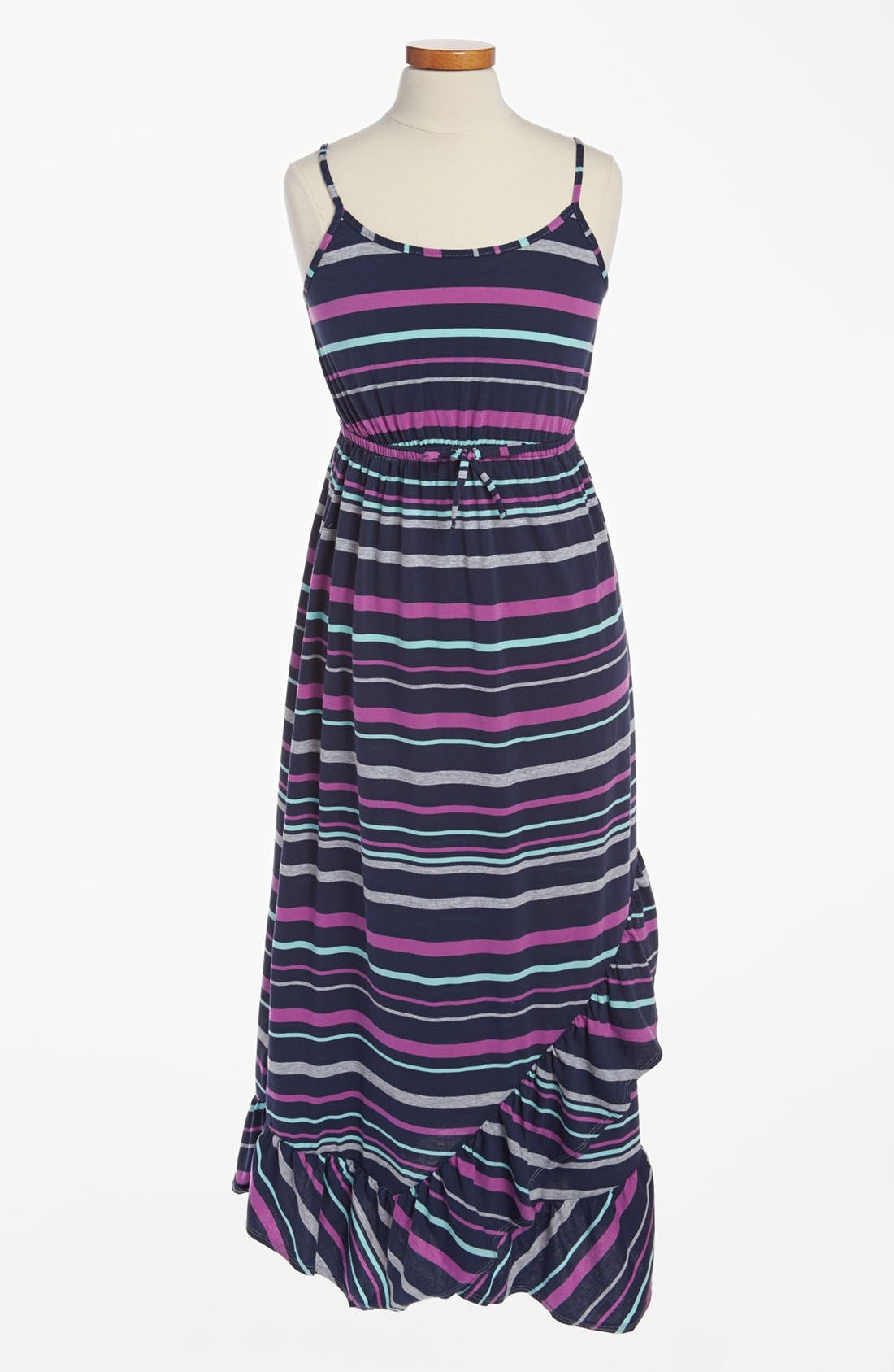 Alternate Image 1 Selected - 'Sunrise' Maxi Dress (Big Girls)