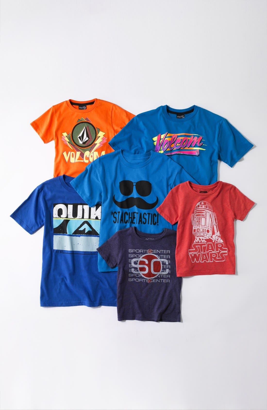 Alternate Image 3  - Jem 'Stachetastic' Screenprint T-Shirt (Big Boys)