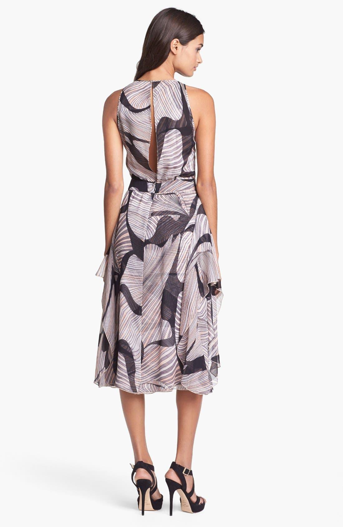 Alternate Image 2  - Diane von Furstenberg 'Nydia' Silk Faux Wrap Dress