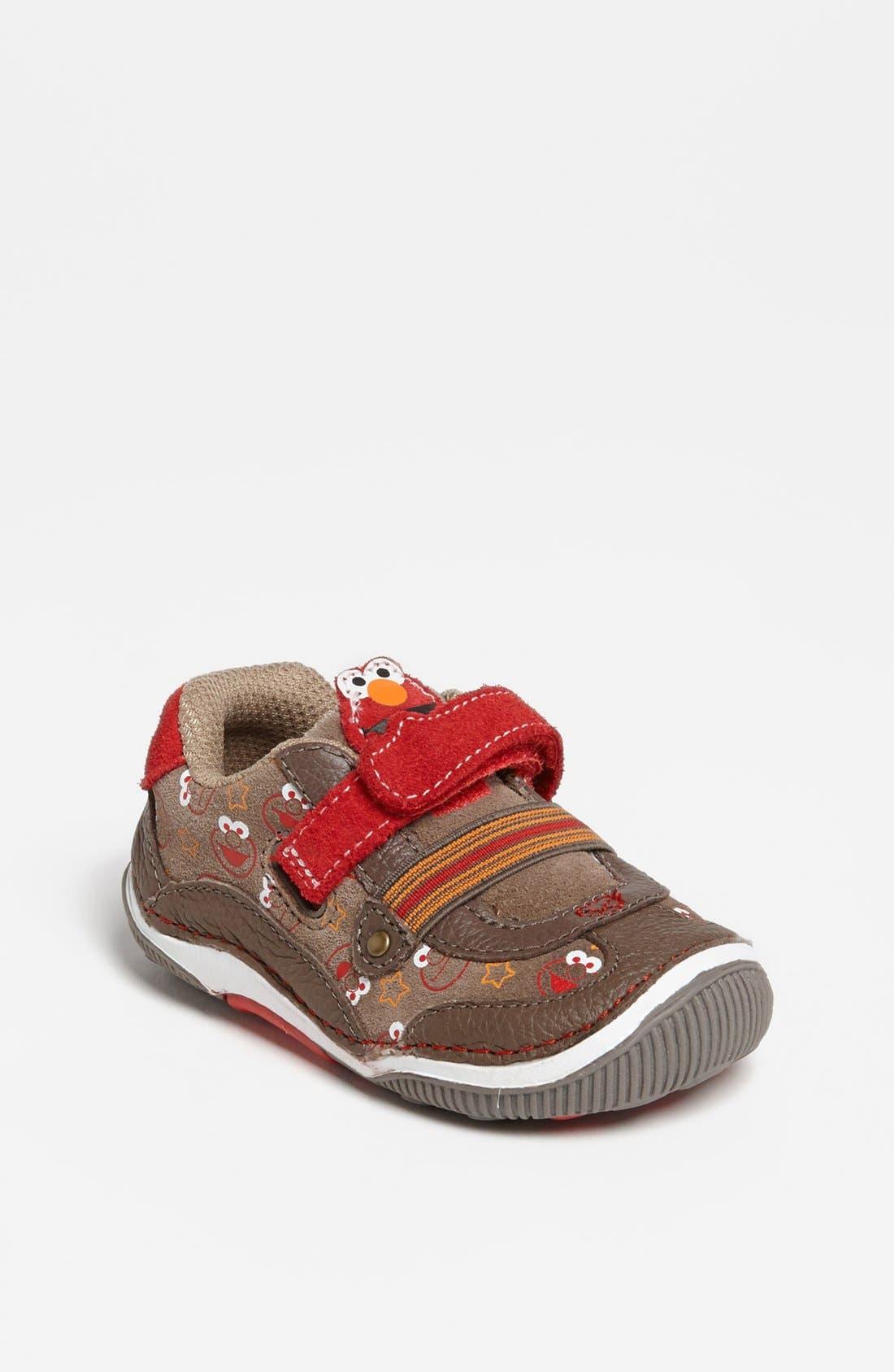 Alternate Image 1 Selected - Stride Rite ' Embracers™ - Elmo™' Sneaker (Baby, Walker & Toddler)