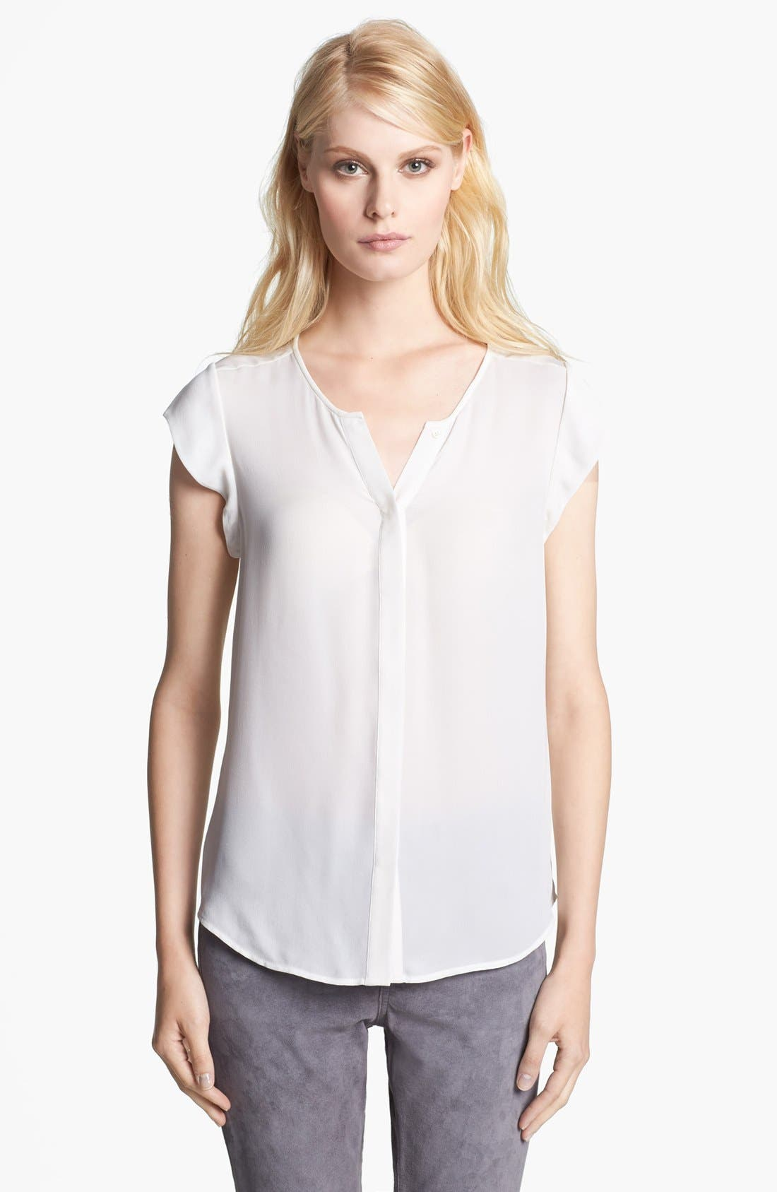 Alternate Image 1 Selected - Joie 'Dimante' Silk Top