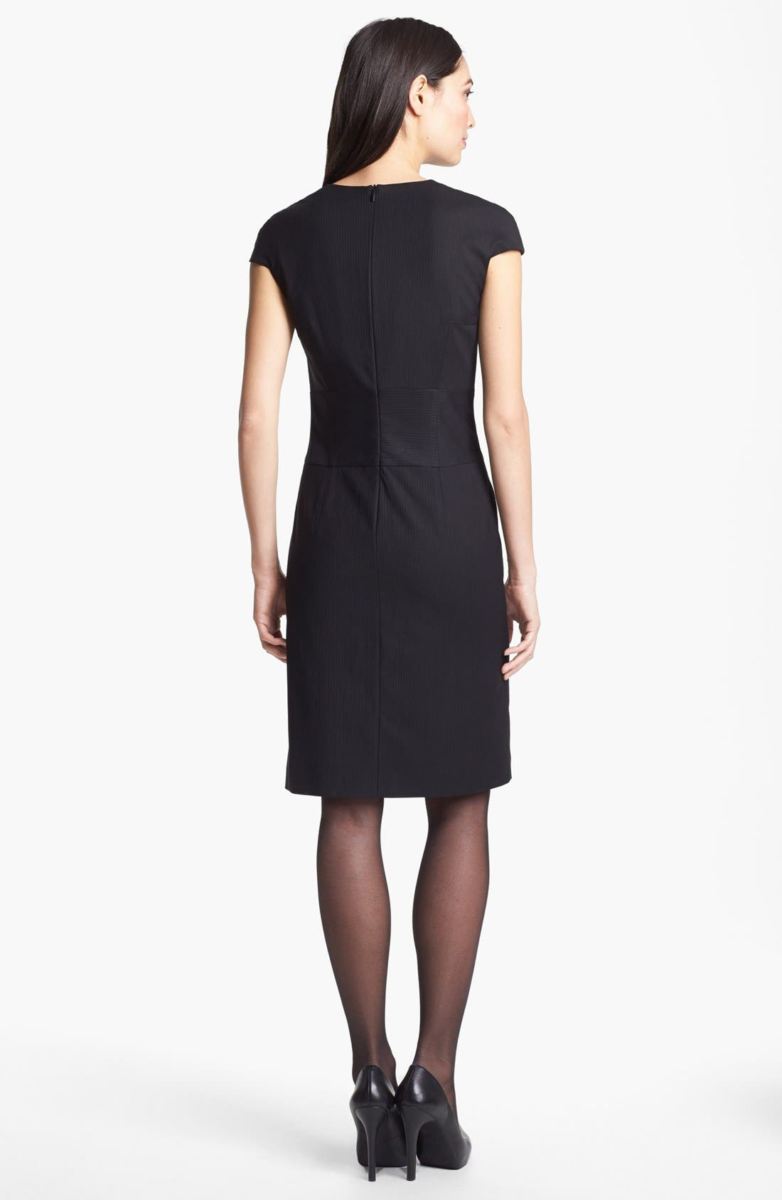 Alternate Image 2  - BOSS HUGO BOSS 'Dilluka' Pinstripe Dress