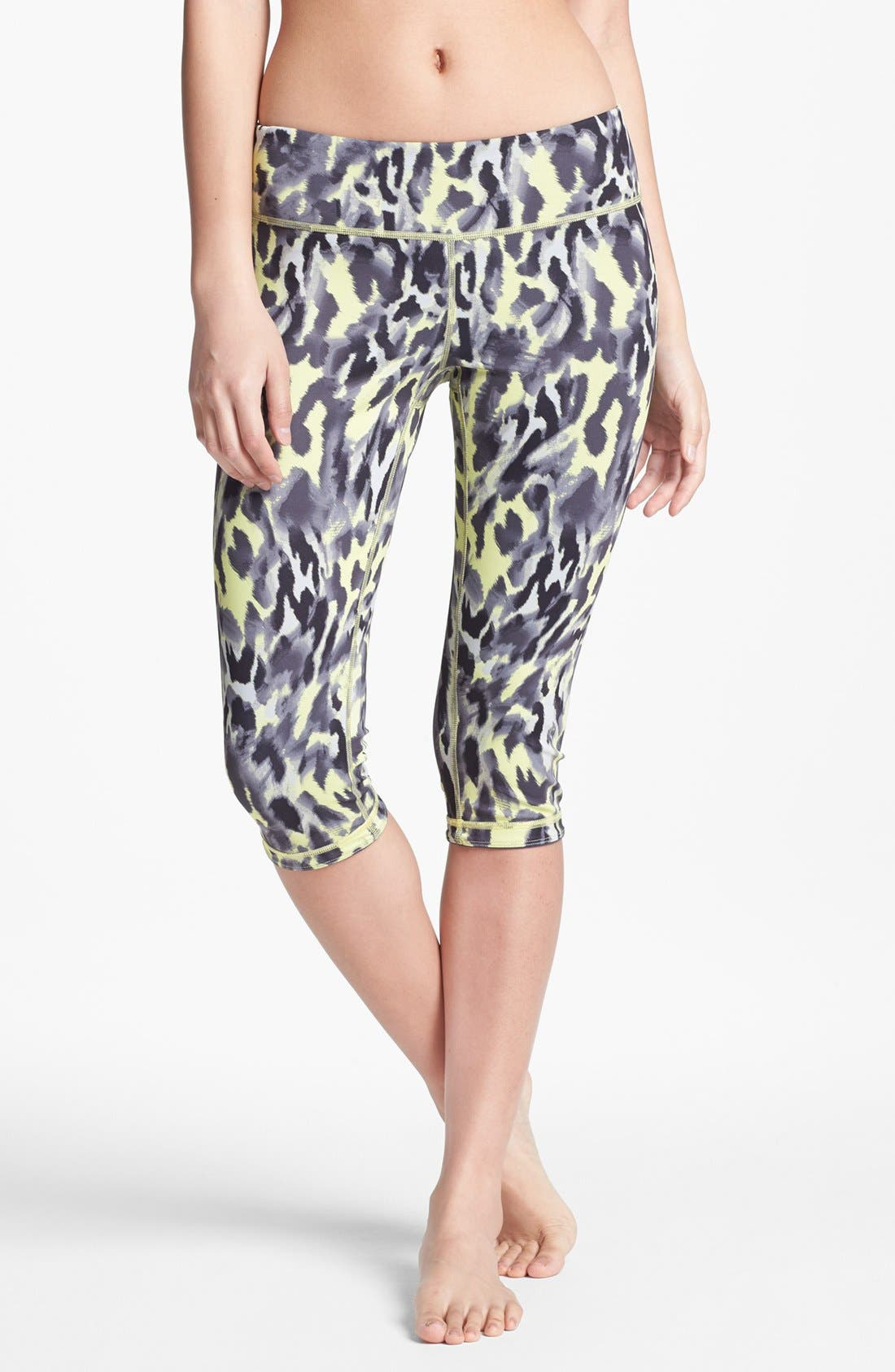 Alternate Image 1 Selected - Zella 'Live In' Reversible Capri Leggings