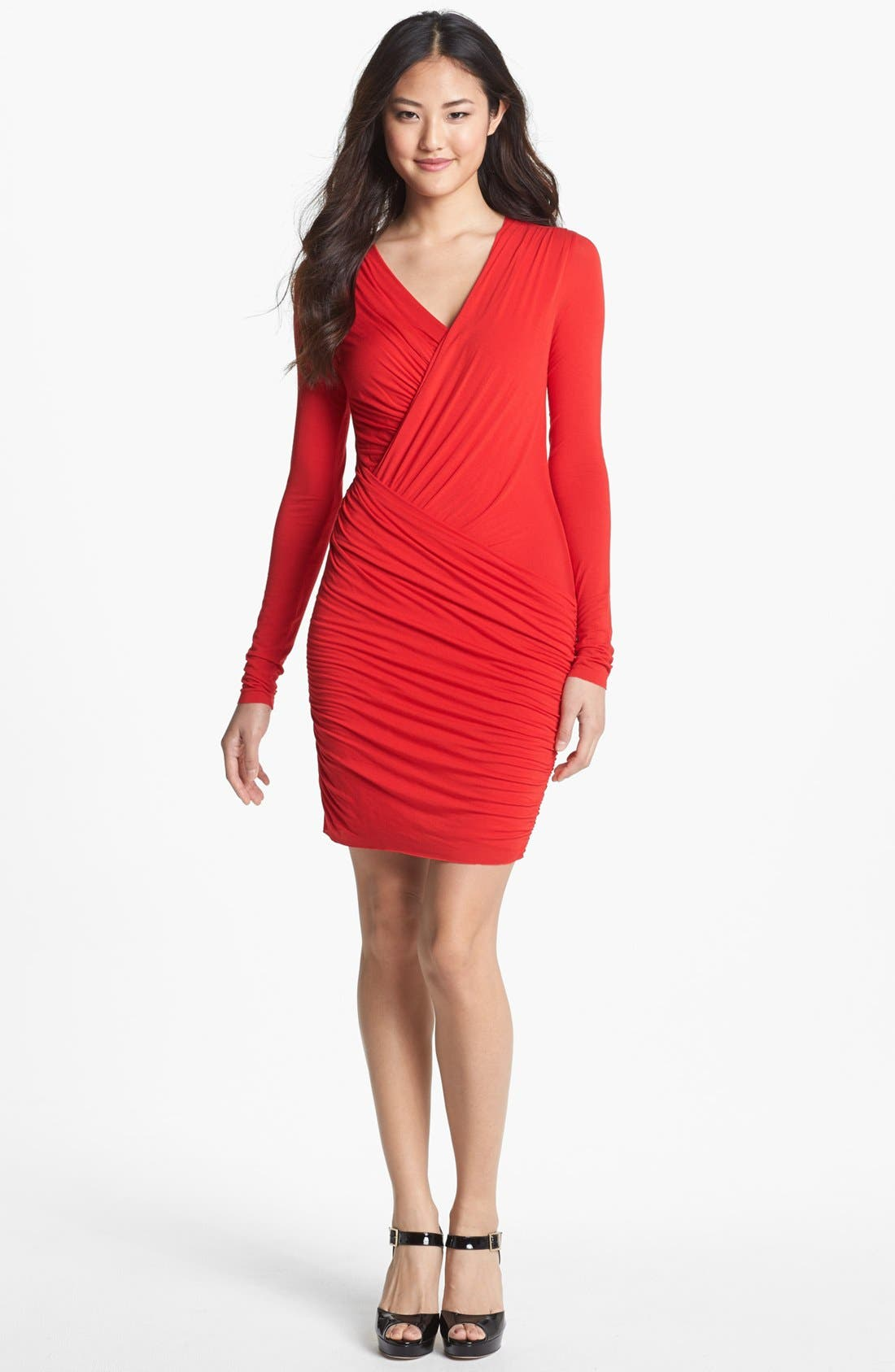 Alternate Image 1 Selected - B44 Dressed by Bailey 44 'Refresh' Ruched Jersey Dress