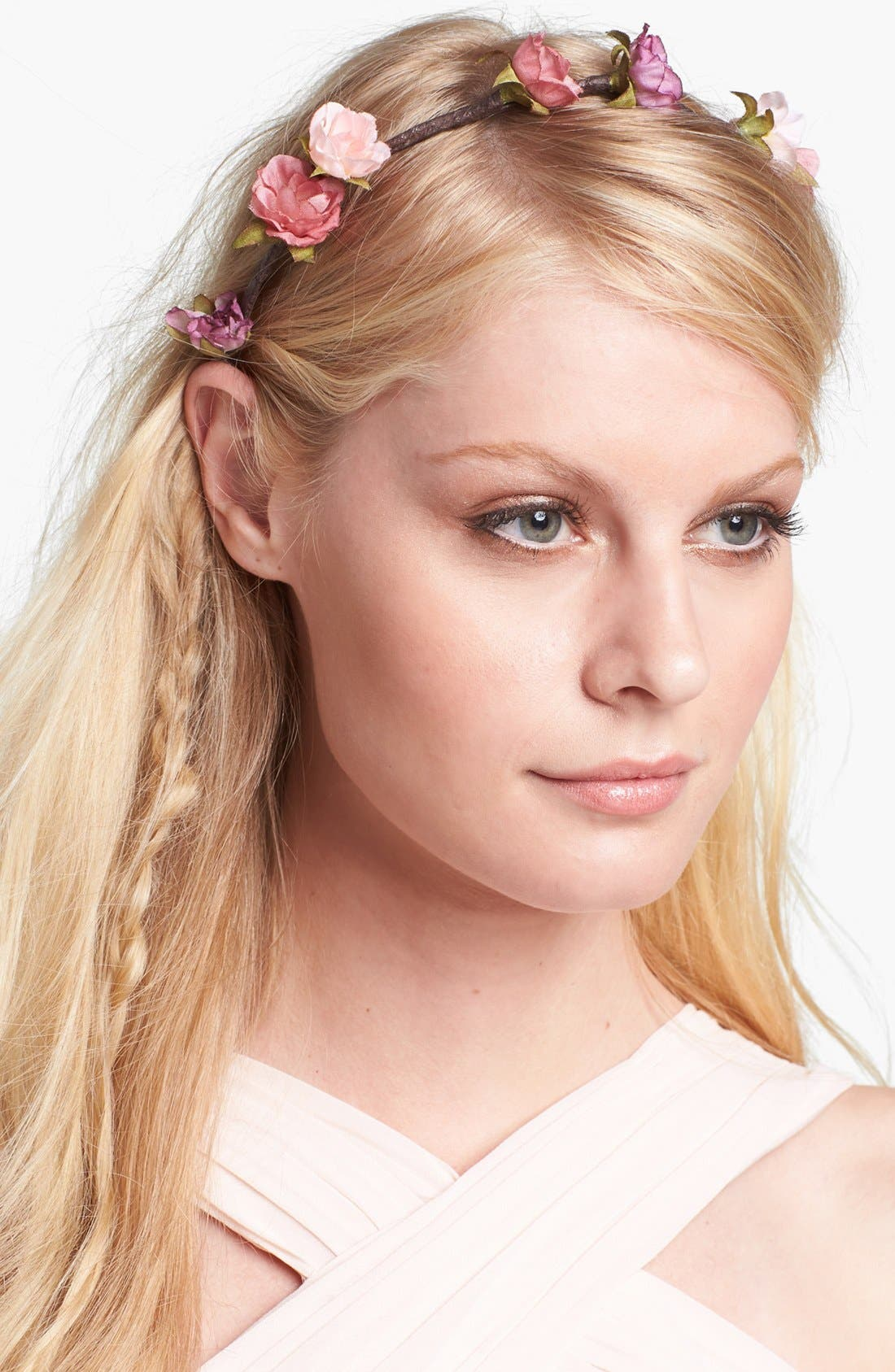 Main Image - Whichgoose 'Paradigm' Pink Bud Headband