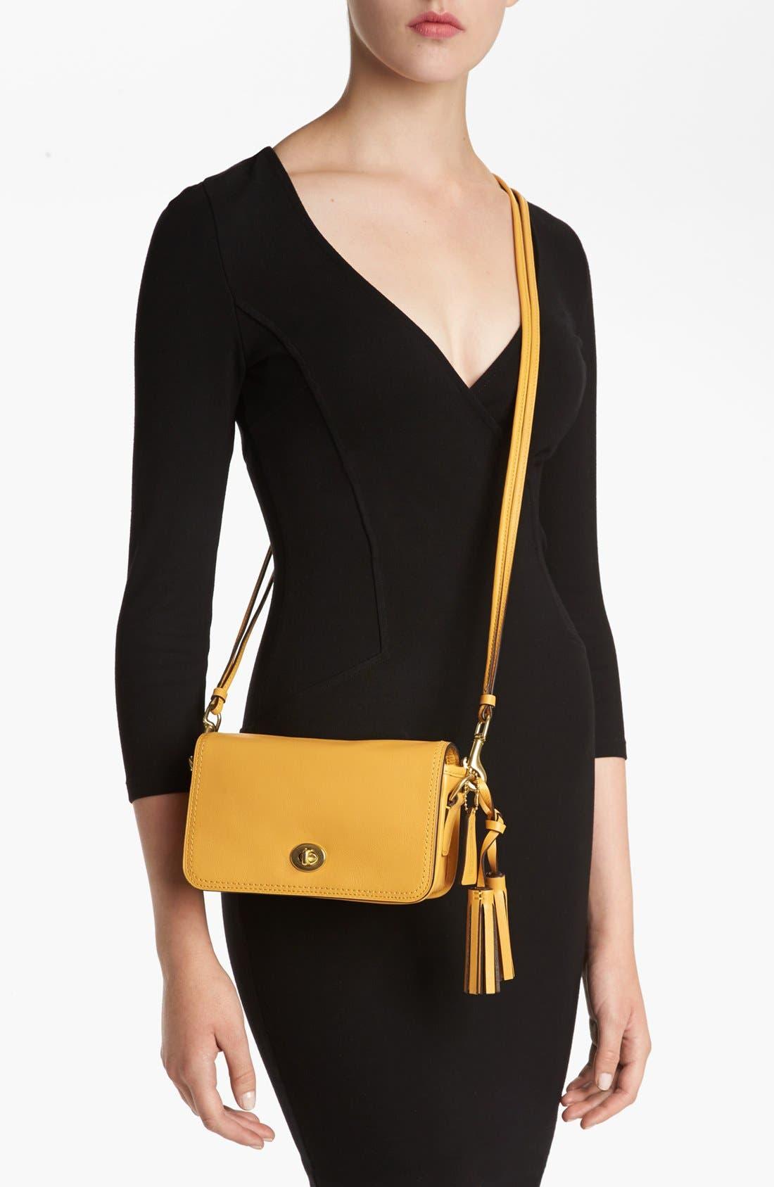Alternate Image 2  - COACH Leather Crossbody Bag