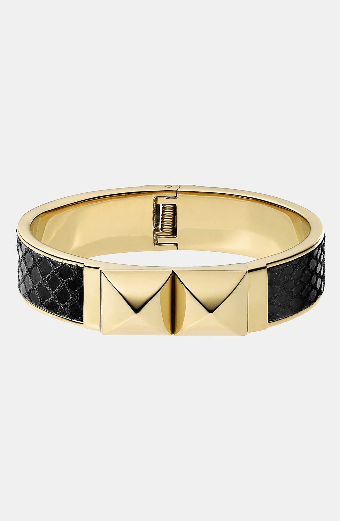 Alternate Image 1 Selected - Michael Kors 'Glam Rock' Hinged Bangle