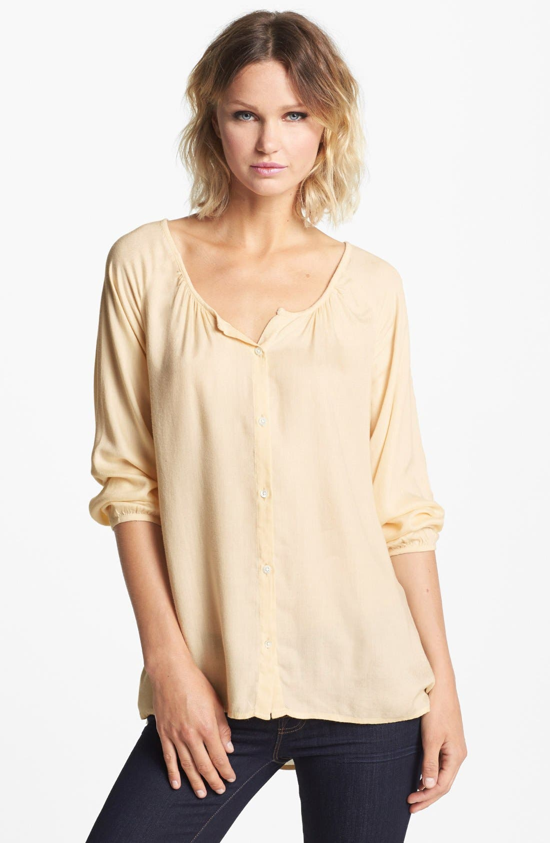Alternate Image 1 Selected - Soft Joie 'Odessa' Twill Blouse
