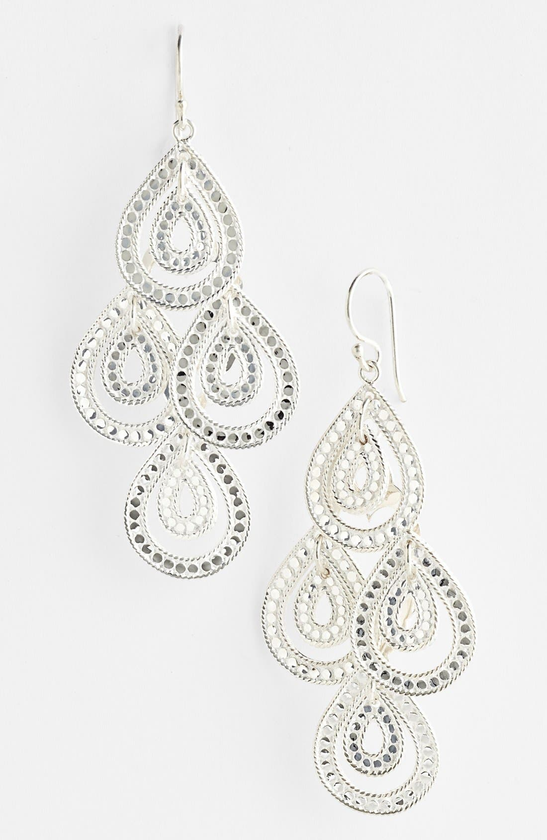Alternate Image 1 Selected - Anna Beck 'Sulawesi' Double Teardrop Chandelier Earrings
