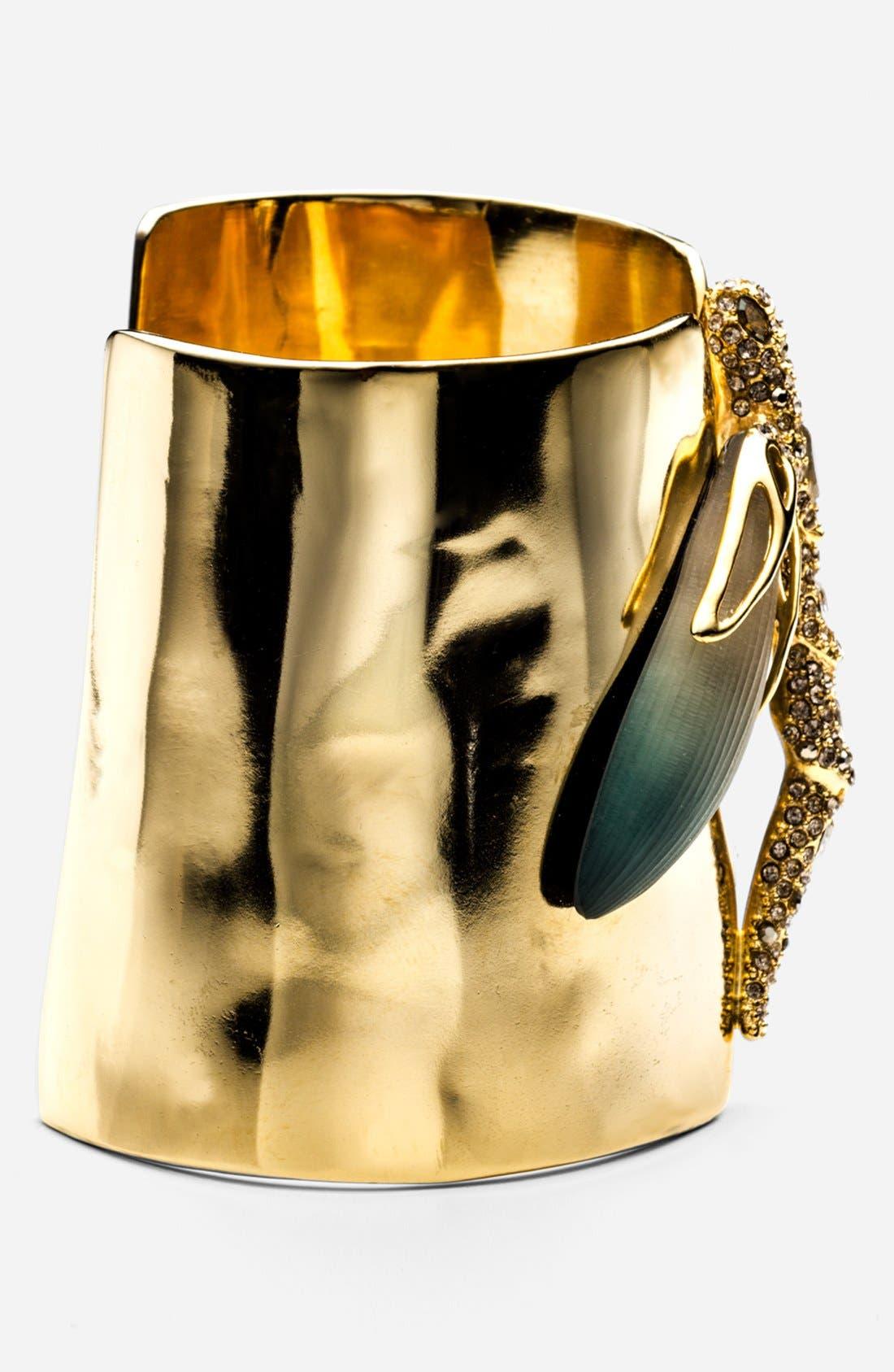 Alternate Image 2  - Alexis Bittar 'Lucite® - Neo Bohemian' Dragonfly Cuff Bracelet
