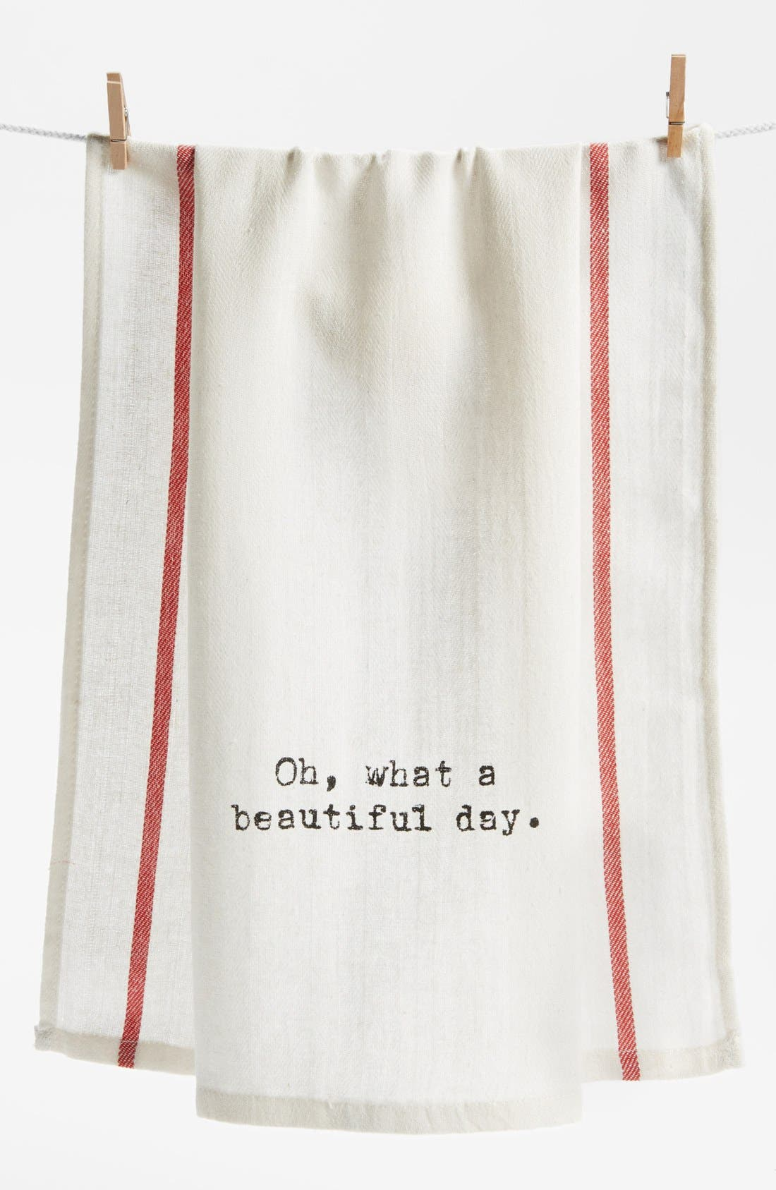 Alternate Image 1 Selected - Second Nature by Hand 'Oh What a Beautiful Day' Towel
