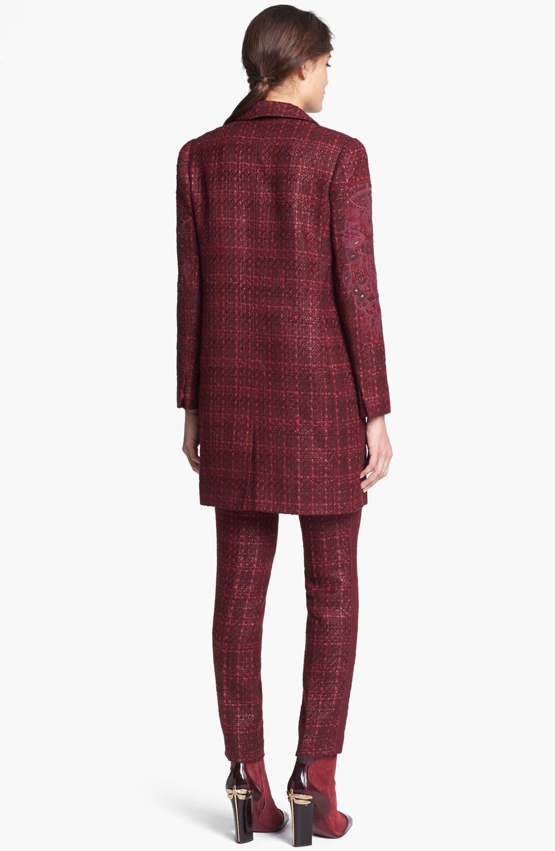 Alternate Image 2  - Tory Burch 'Patsy' Tweed Coat