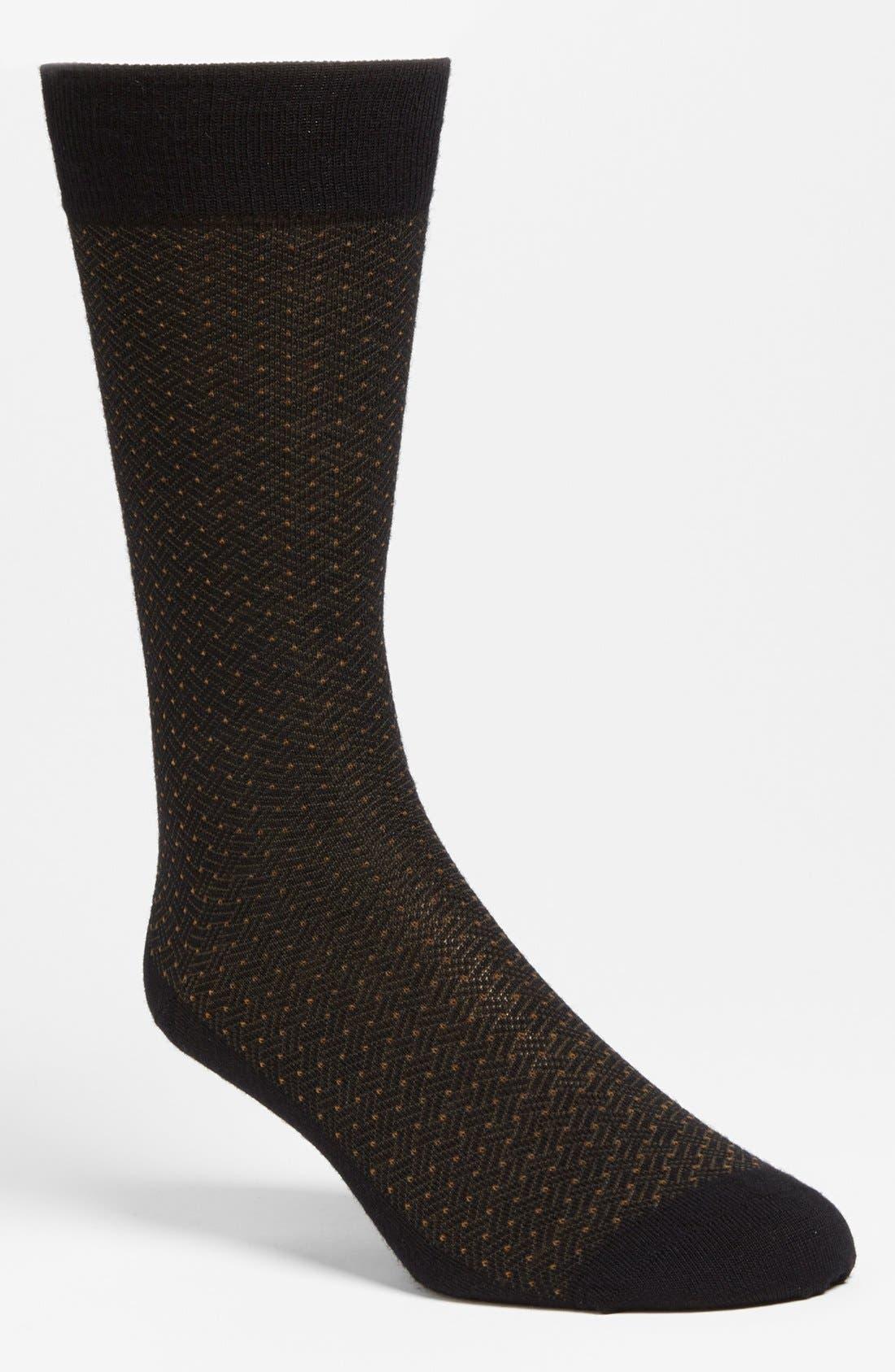 Alternate Image 1 Selected - Pantherella 'Albion' Dot Socks