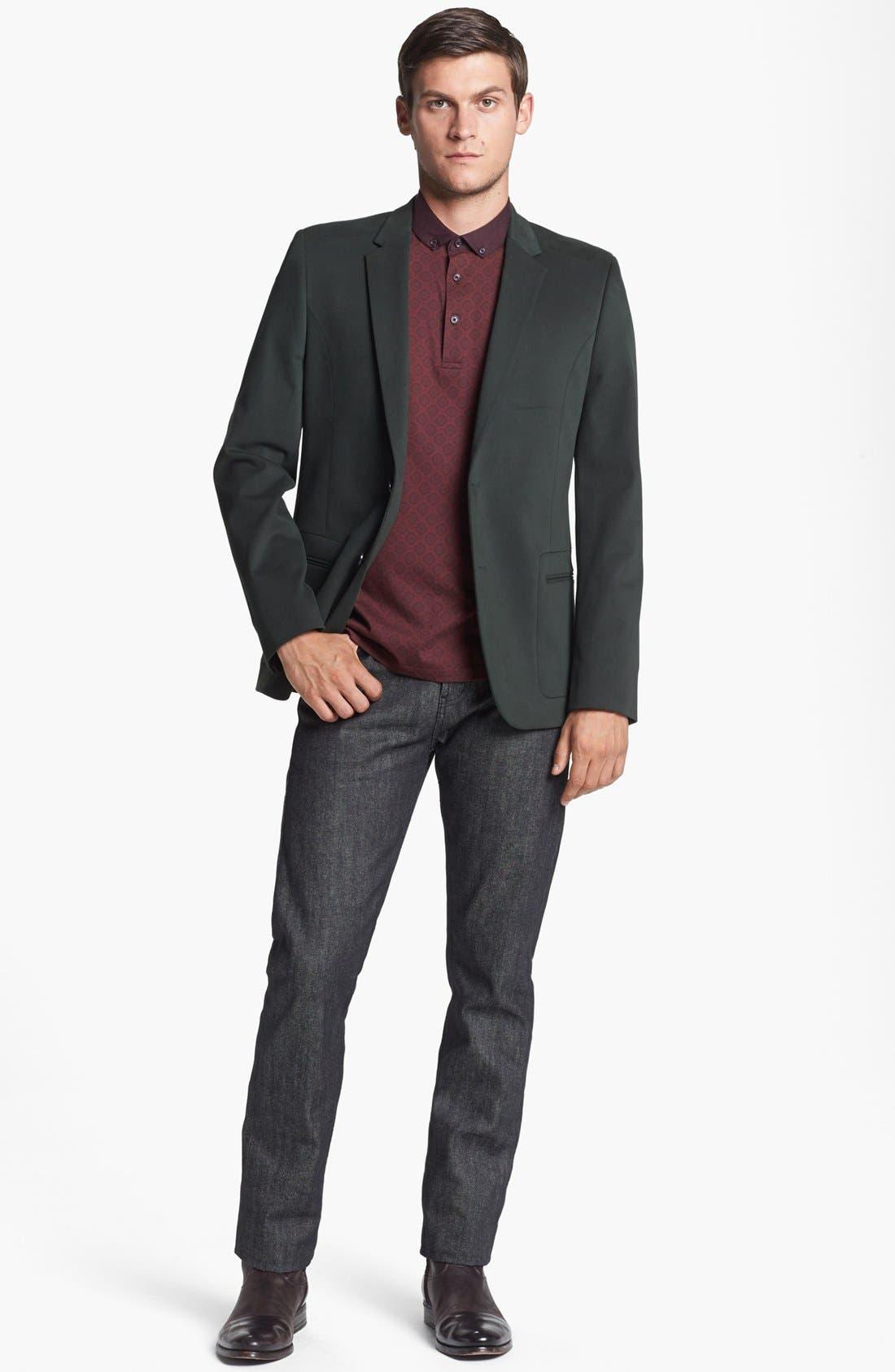 Main Image - HUGO Blazer & Levi's® Made & Crafted™ Jeans