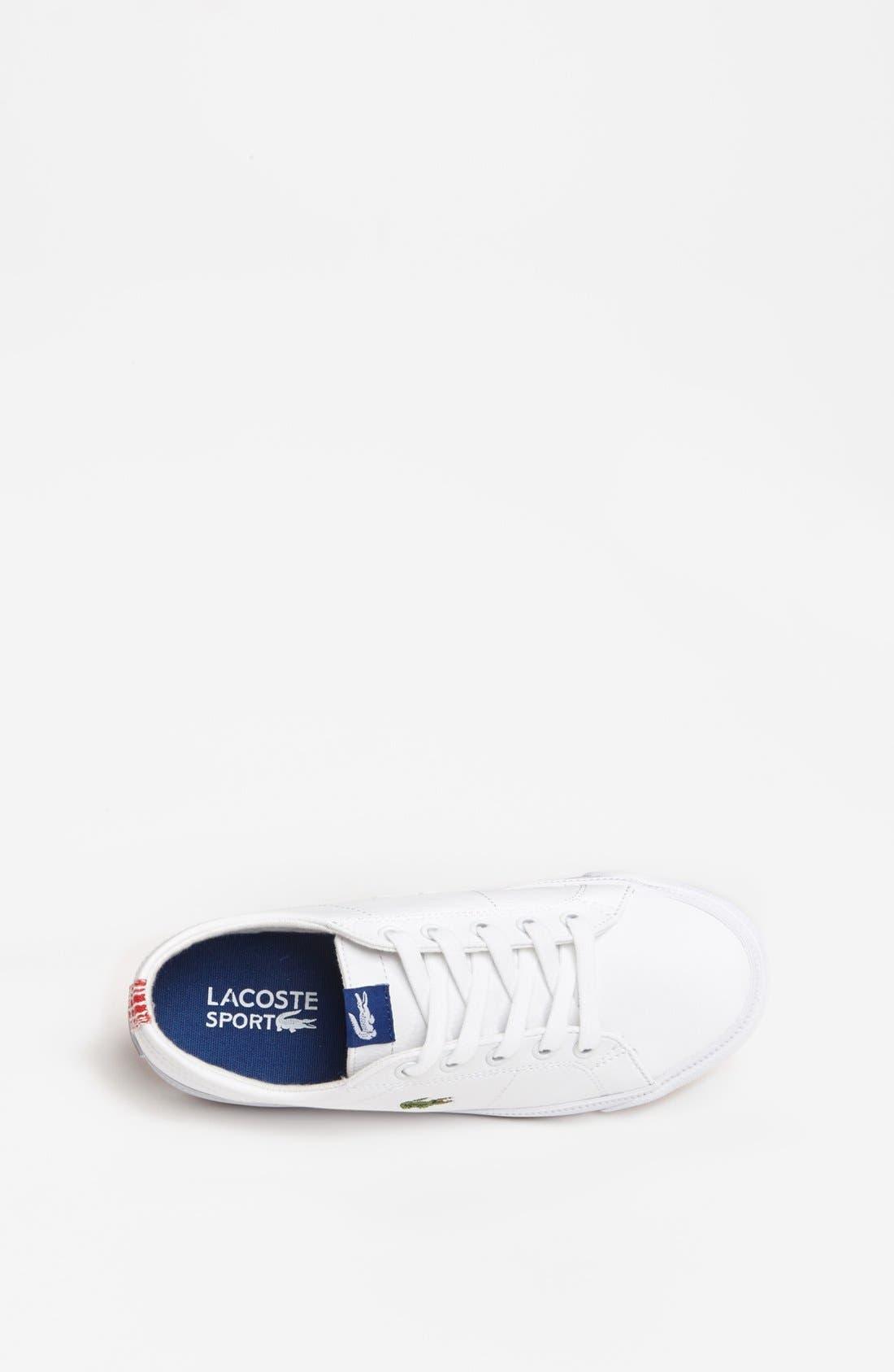 Alternate Image 3  - Lacoste 'Marcel' Sneaker (Toddler & Little Kid)