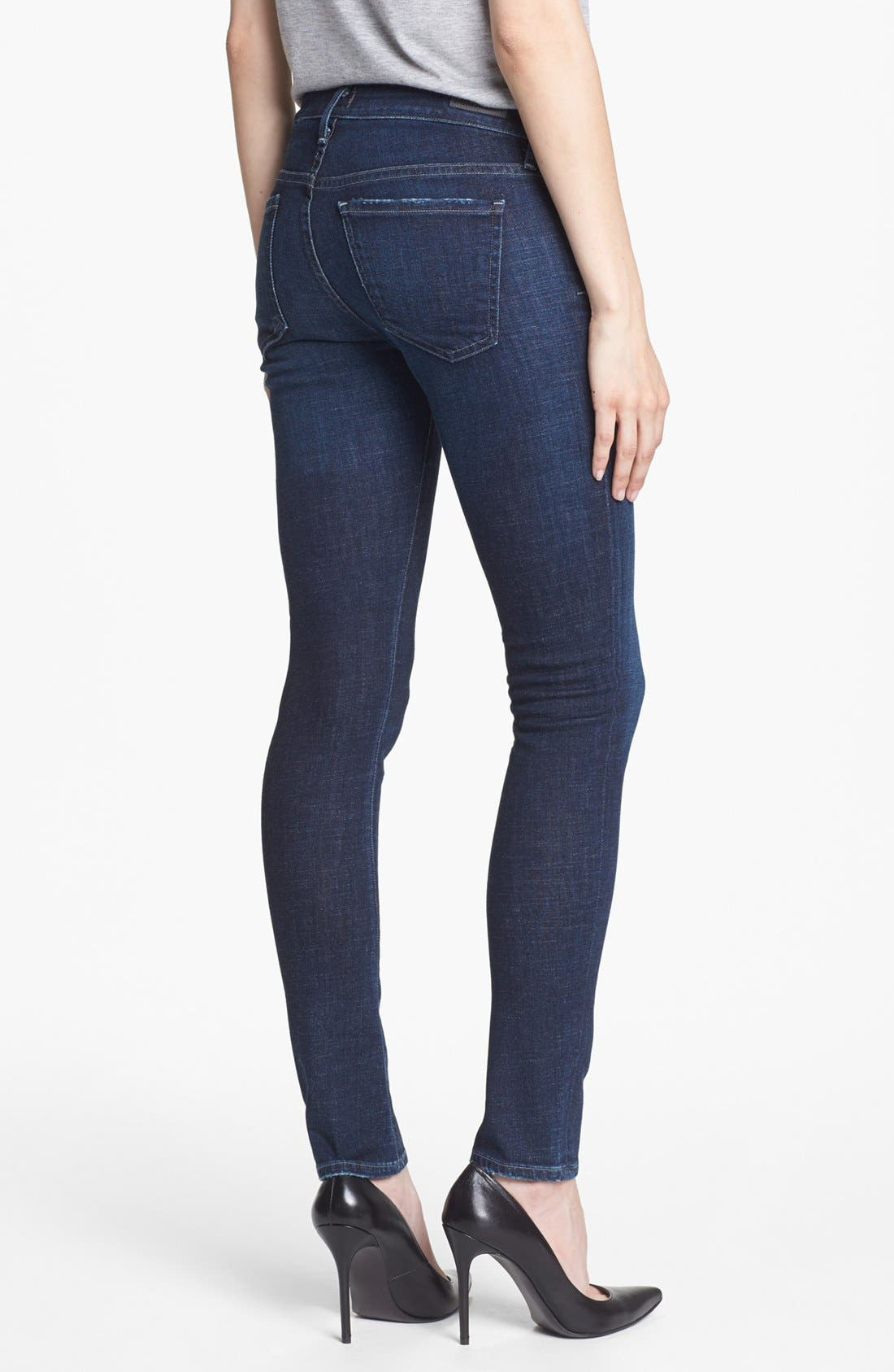 Alternate Image 2  - Citizens of Humanity 'Racer' Low Rise Skinny Jeans (Solstice)