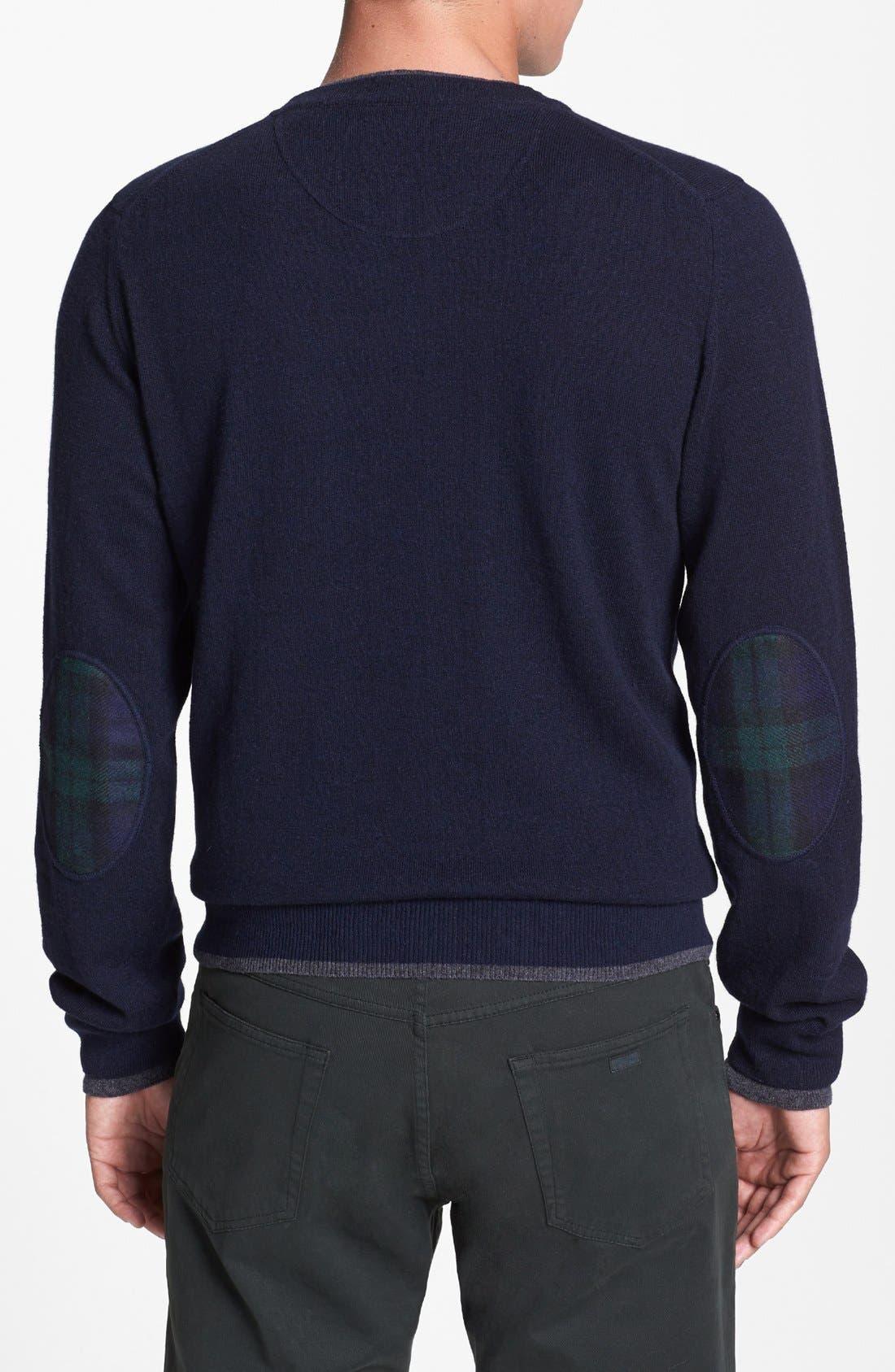 Alternate Image 2  - Kent and Curwen 'Underwood' Modern Fit Sweater