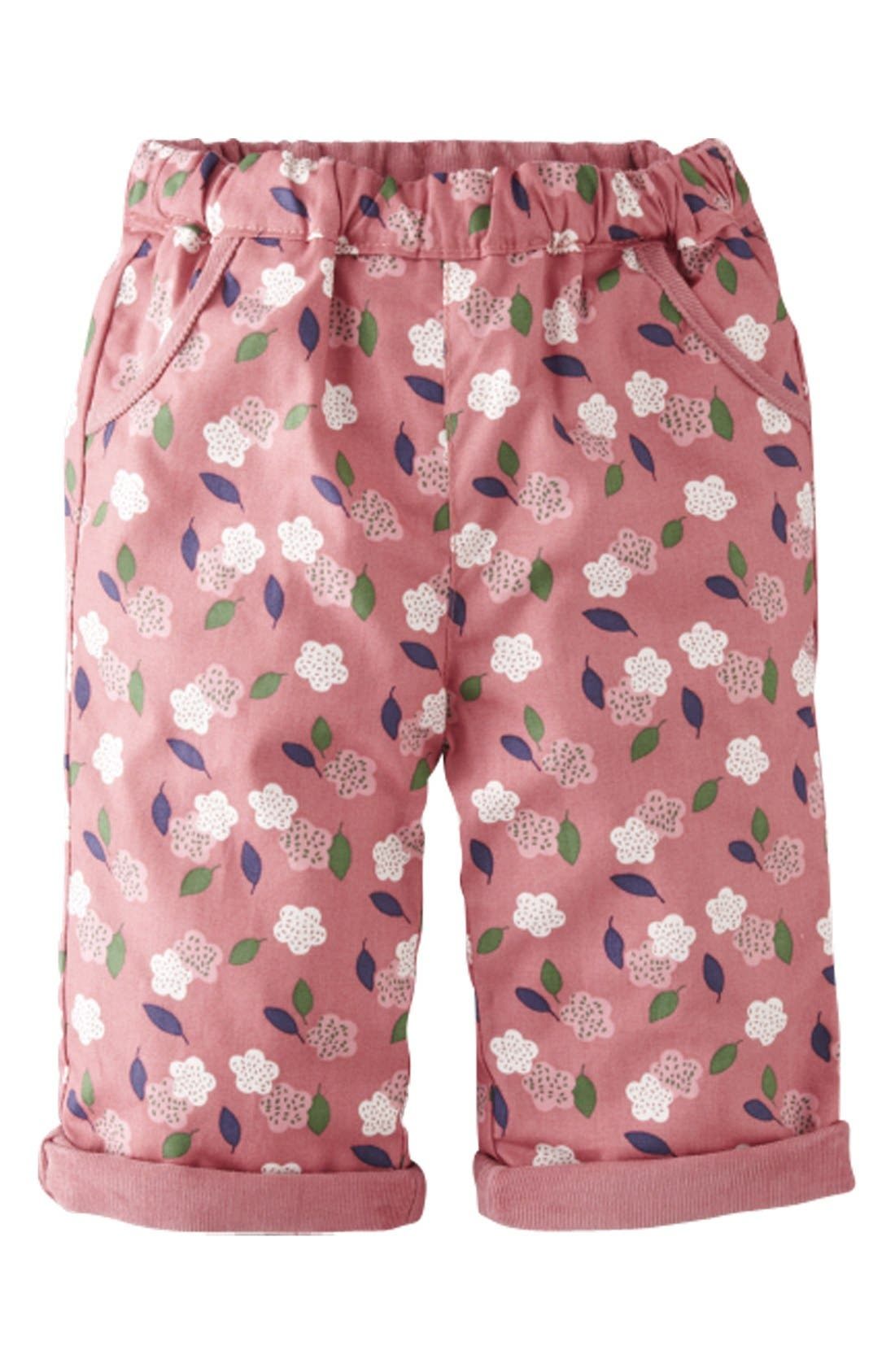 Alternate Image 2  - Mini Boden Reversible Corduroy Pants (Baby Girls)